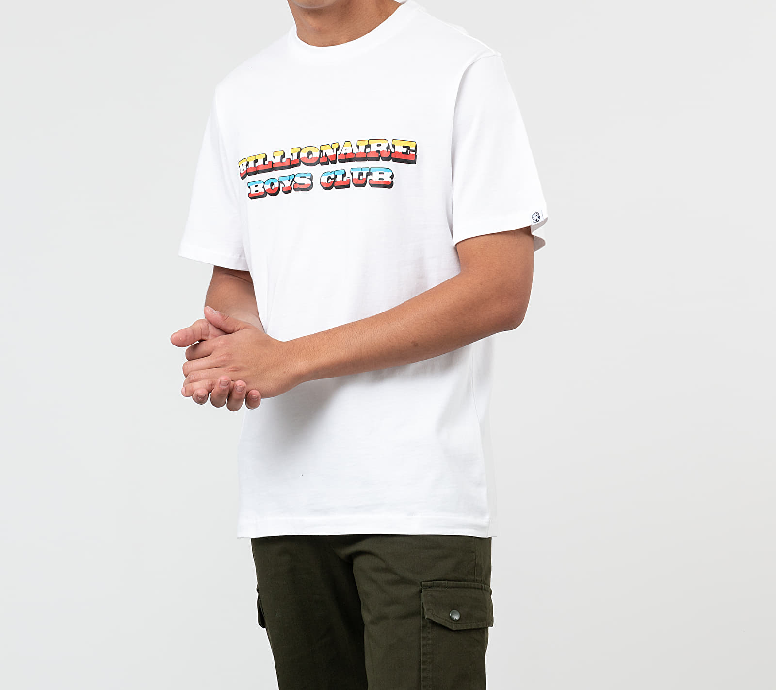 Billionaire Boys Club Gradient Graphic Tee White