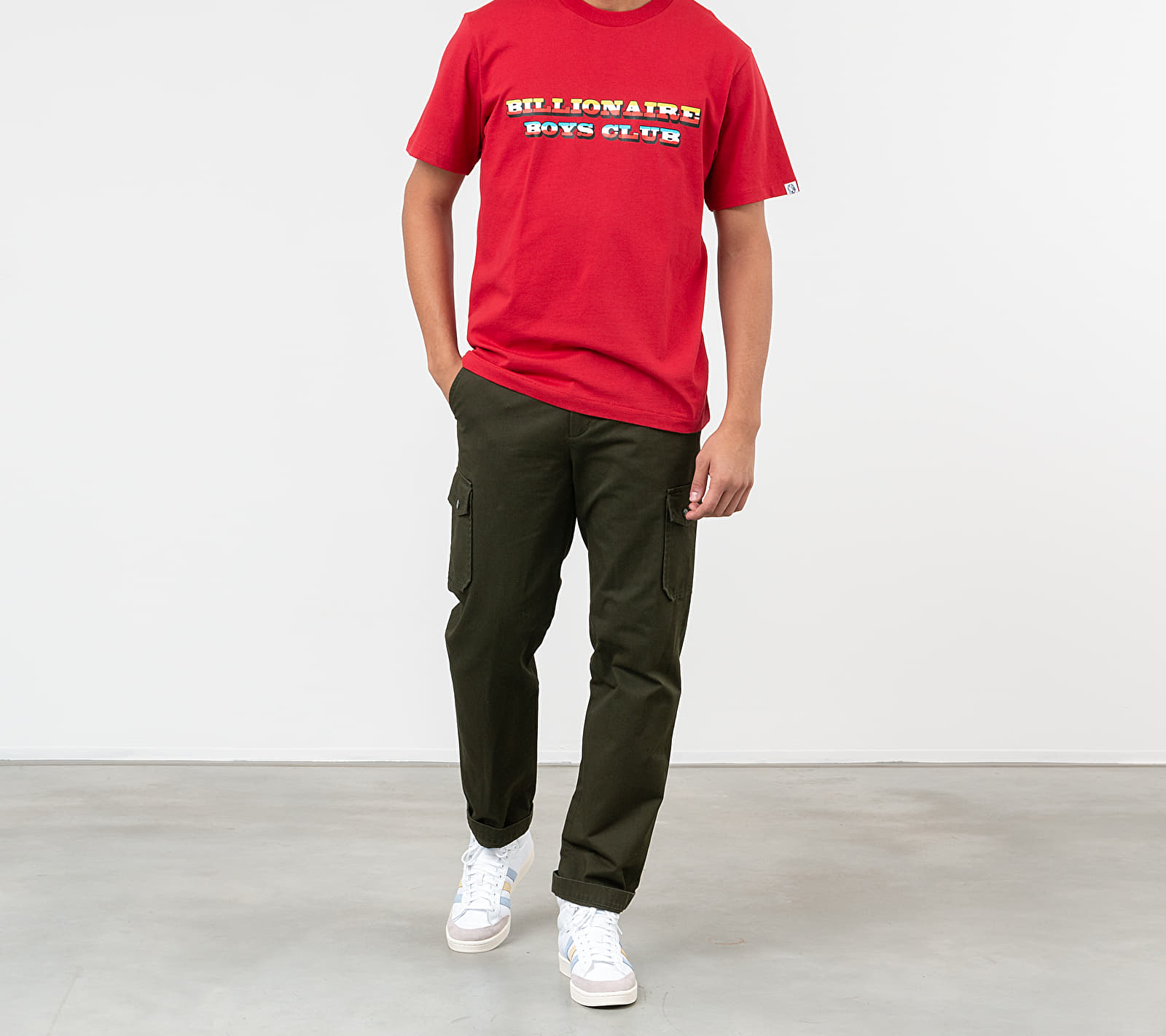 Billionaire Boys Club Gradient Graphic Tee Red