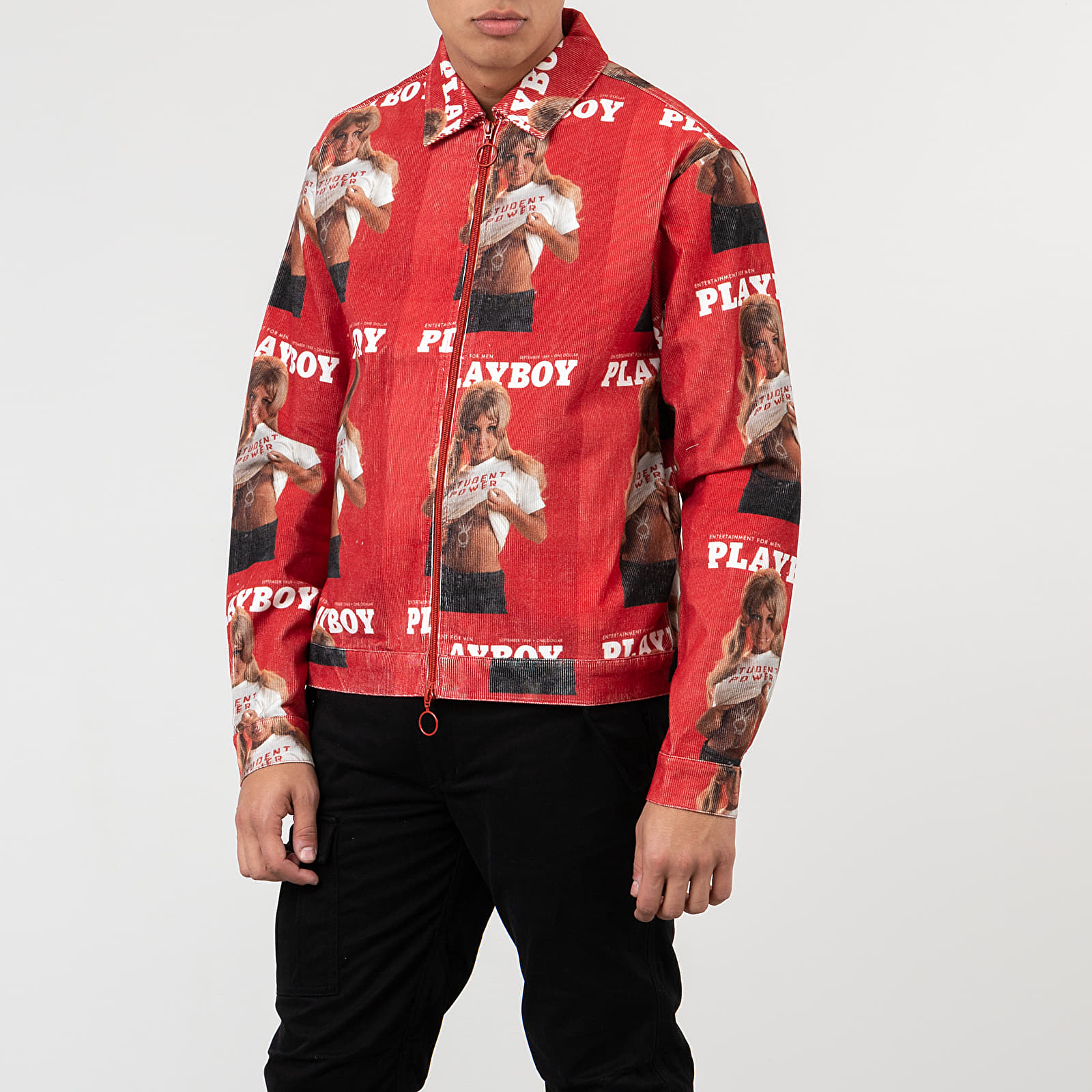Soulland Meets Playboy Terry Jacket