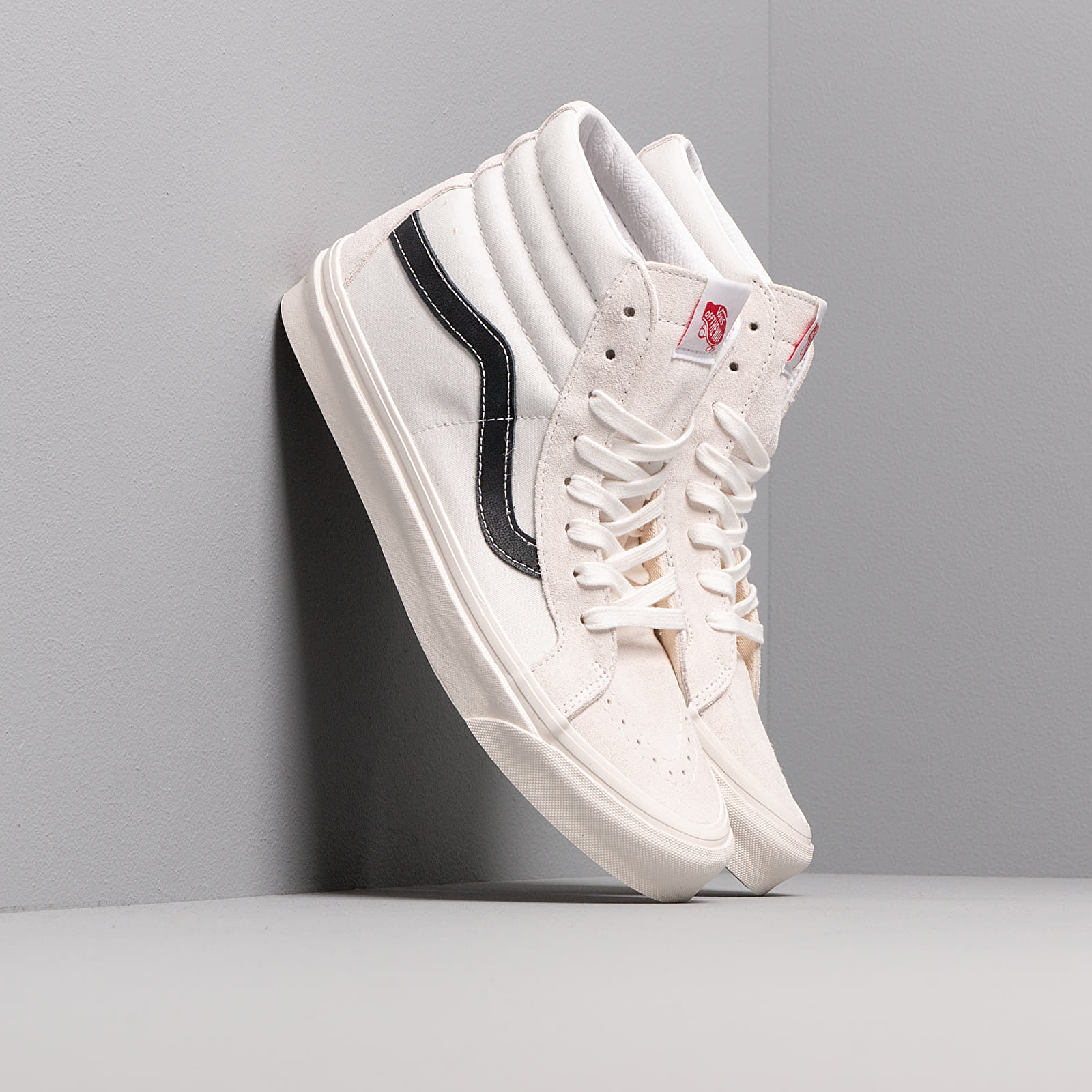 Men's shoes Vans Sk8-Hi 38 Dx Og White/ Og Black
