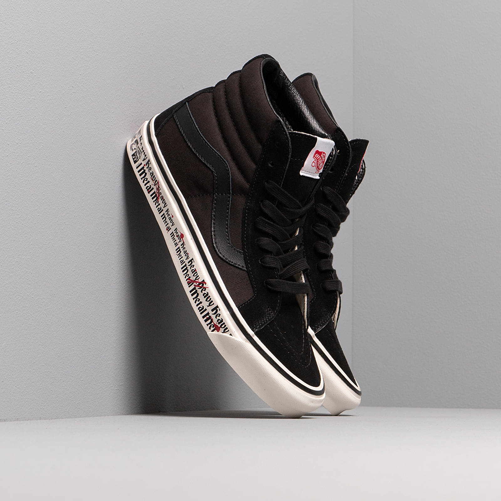 Buty męskie Vans Sk8-Hi 38 Dx Heavy Metal Tape/ Og Black