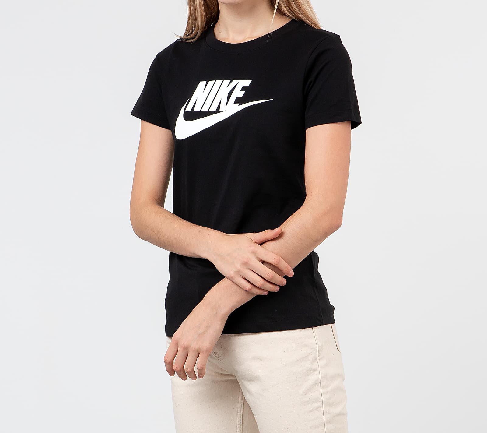 Nike Sportswear Essential Icon Future Tee Black/ White S
