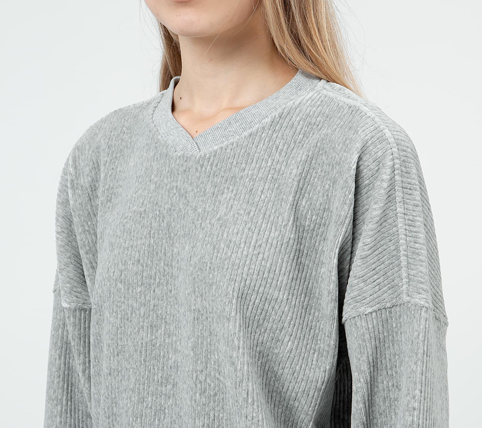 Calvin Klein Long Sleeve Lounge Sweatshirt Grey Heather, Gray