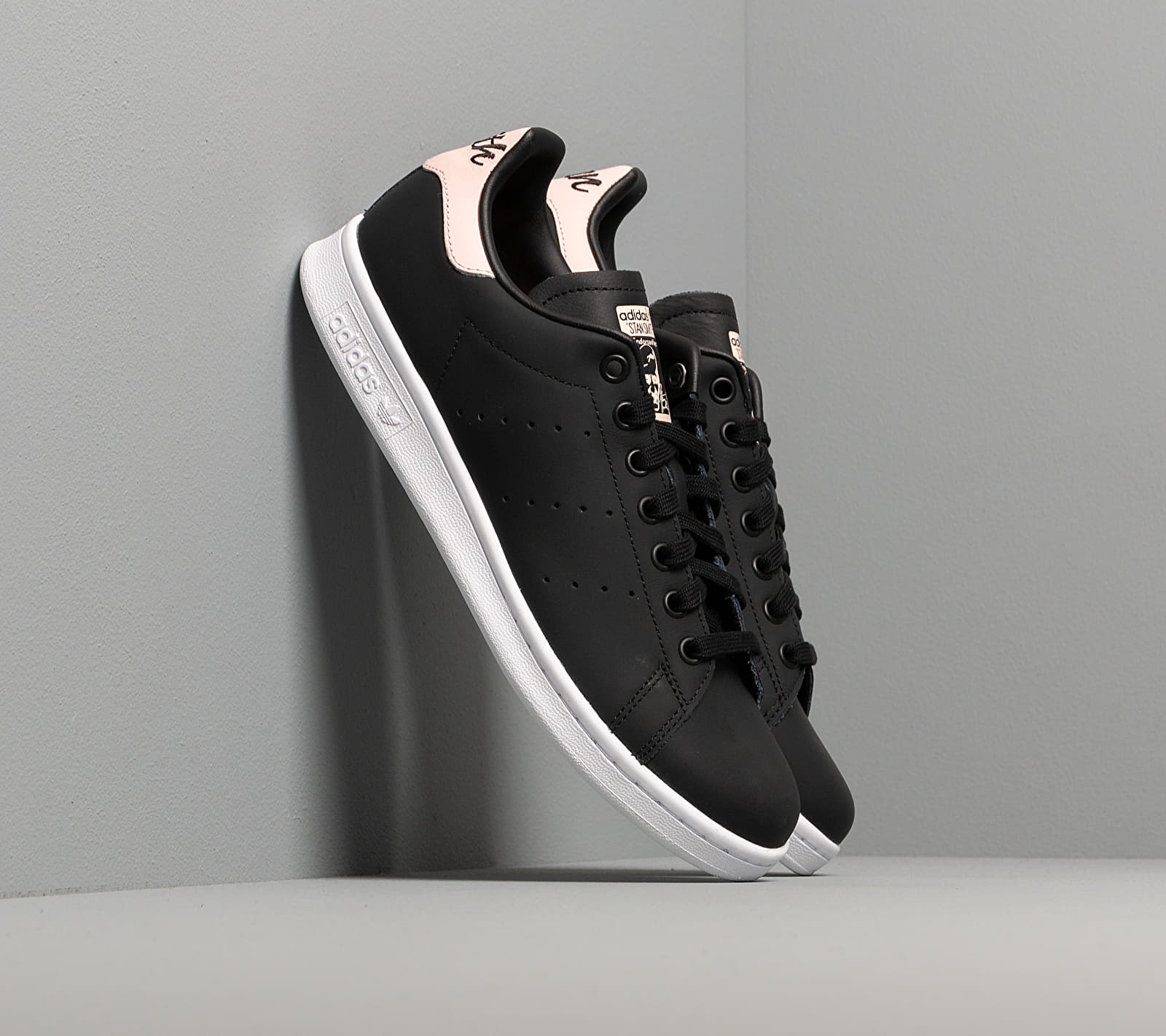 adidas Stan Smith W Core Black/ Ice Pink/ Ftw White EUR 41 1/3