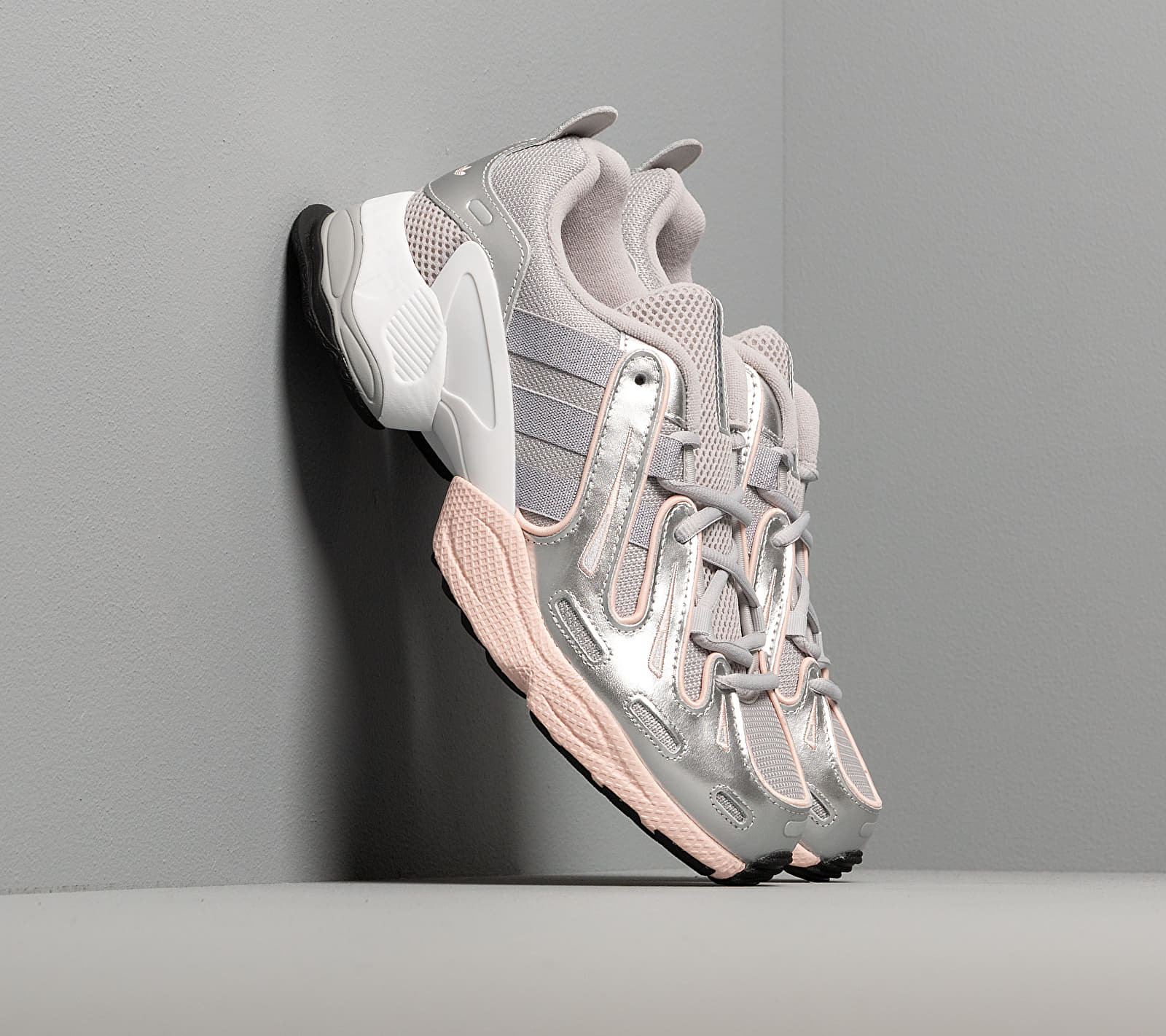adidas EQT Gazelle W Grey Two/ Metalic Silver/ Ice Pink, Gray