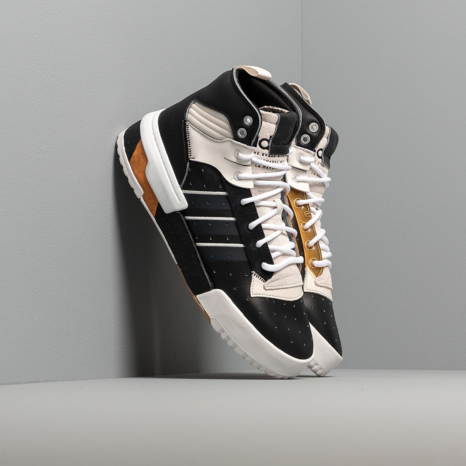 Men's shoes adidas Rivalry RM Core Black/ Flace Orange/ Grey Six