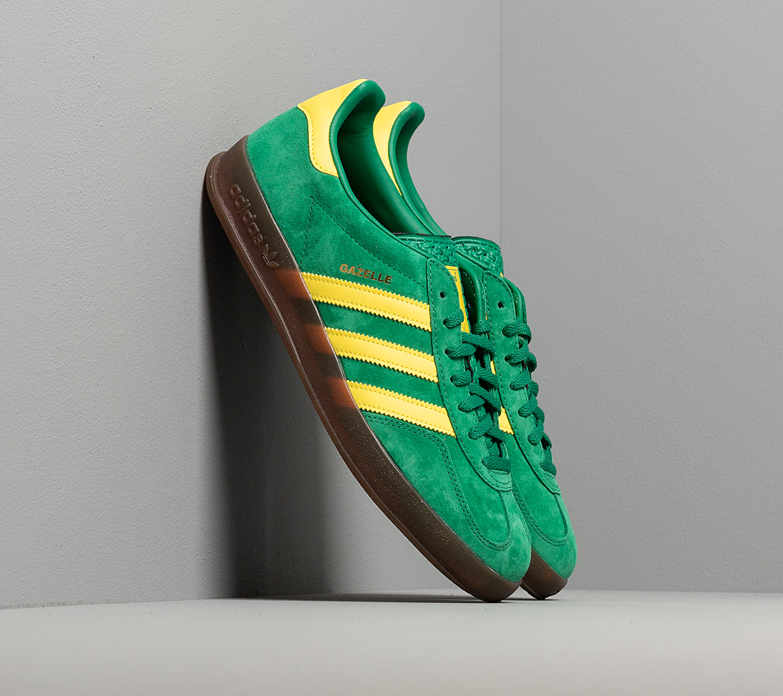 adidas Gazelle Indoor Bright Green/ Beta Yellow/ Gum5 EUR 44 2/3