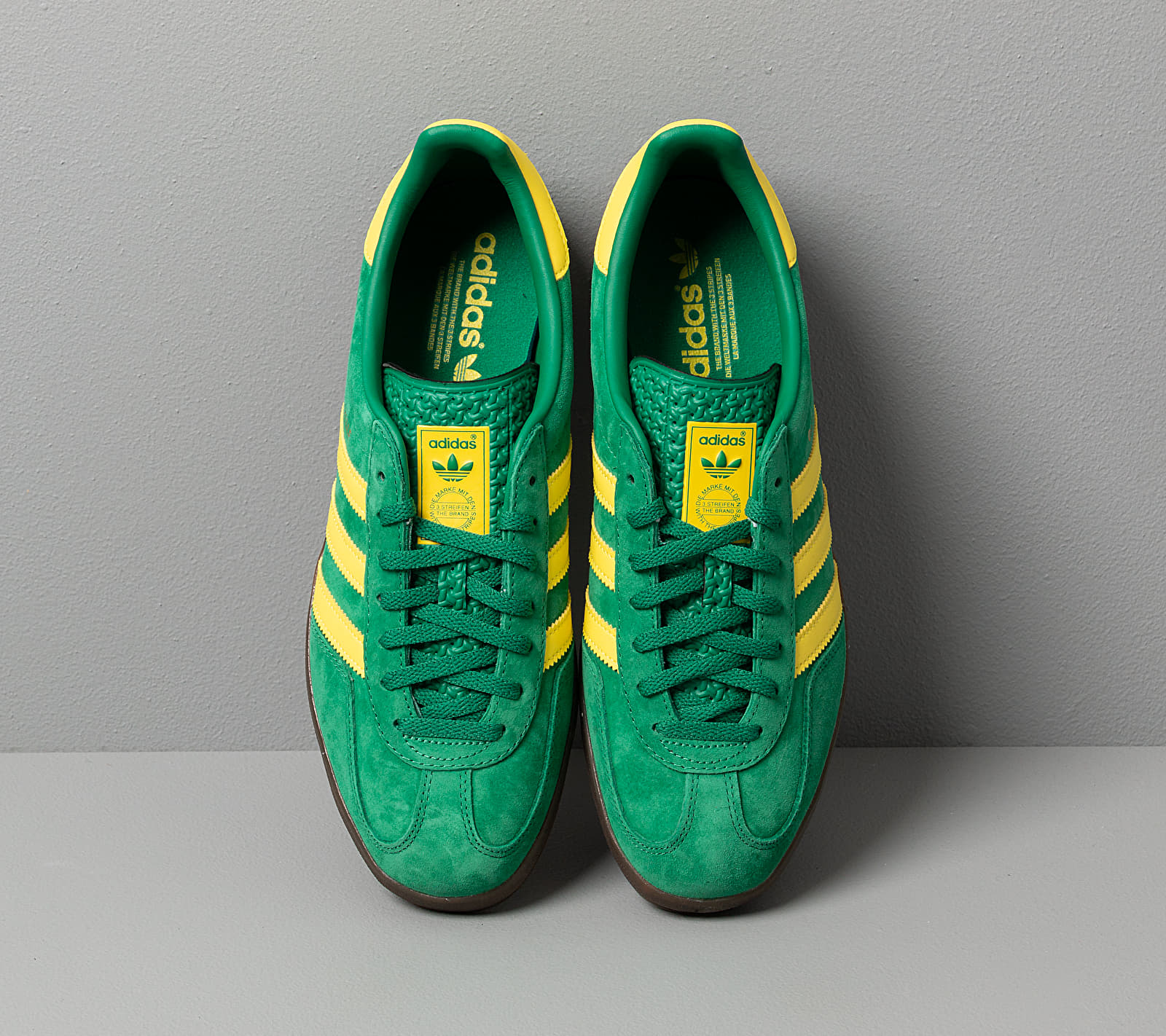 adidas Gazelle Indoor Bright Green/ Beta Yellow/ Gum5