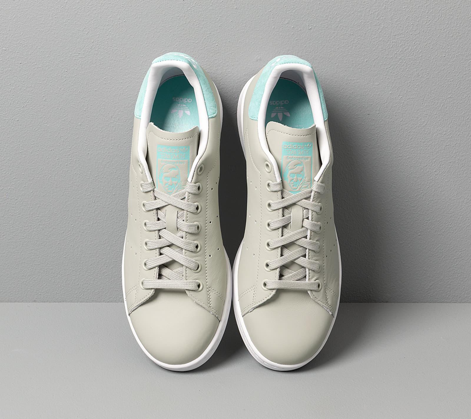 adidas Stan Smith Ash Silver/ Easy Mint/ Ftw White, Gray
