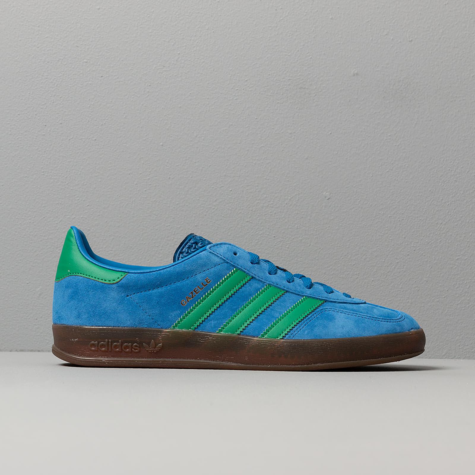 adidas Gazelle Indoor Lust Blue Bright Green Gum5   Footshop