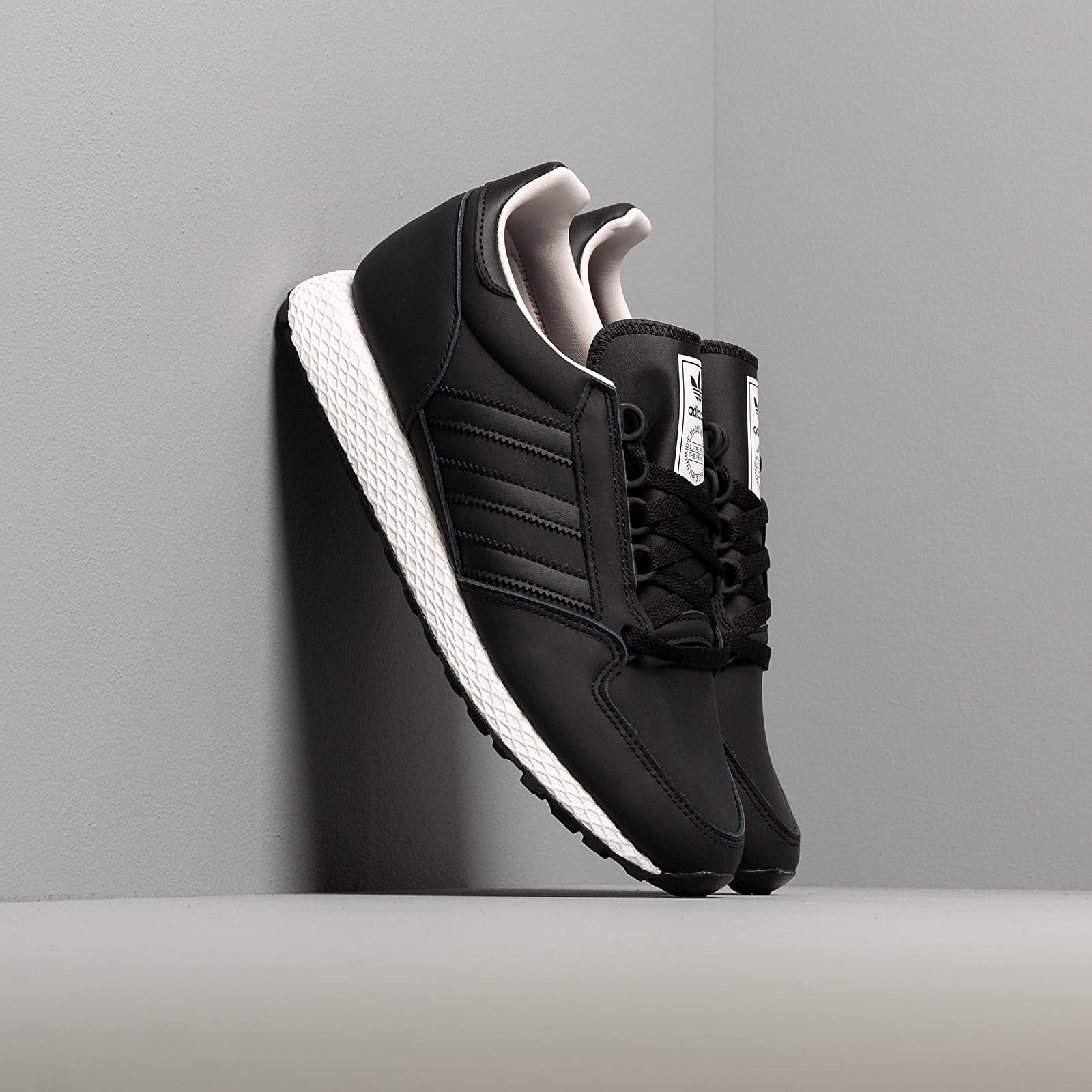 negro costo perder  Men's shoes adidas Forest Grove Core Black/ Core Black/ Orchid Tint