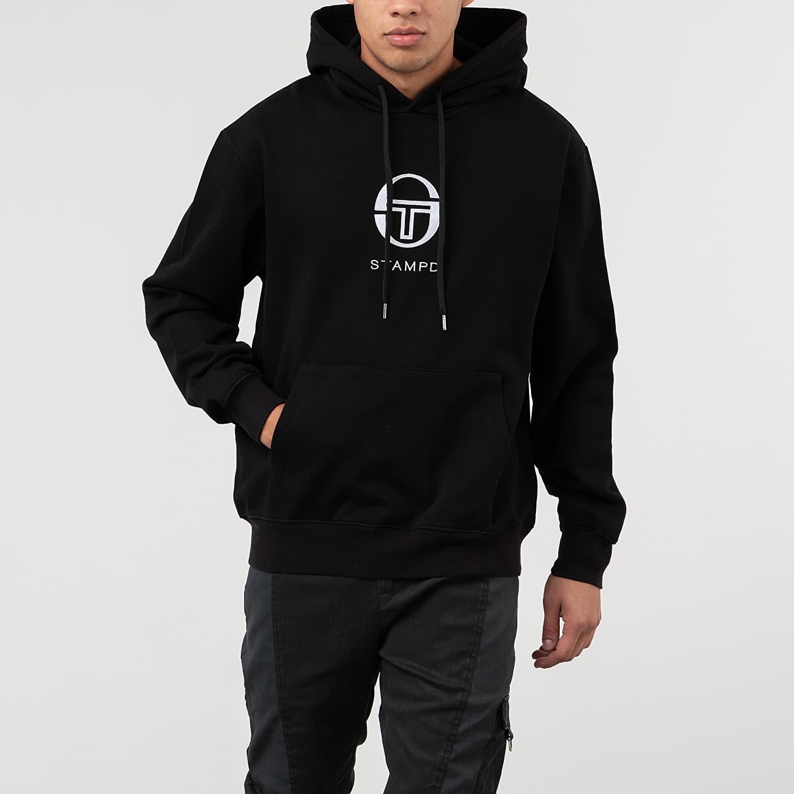 Bluzy i swetry STAMPD x Sergio Tacchini Penthouse Hoodie Black