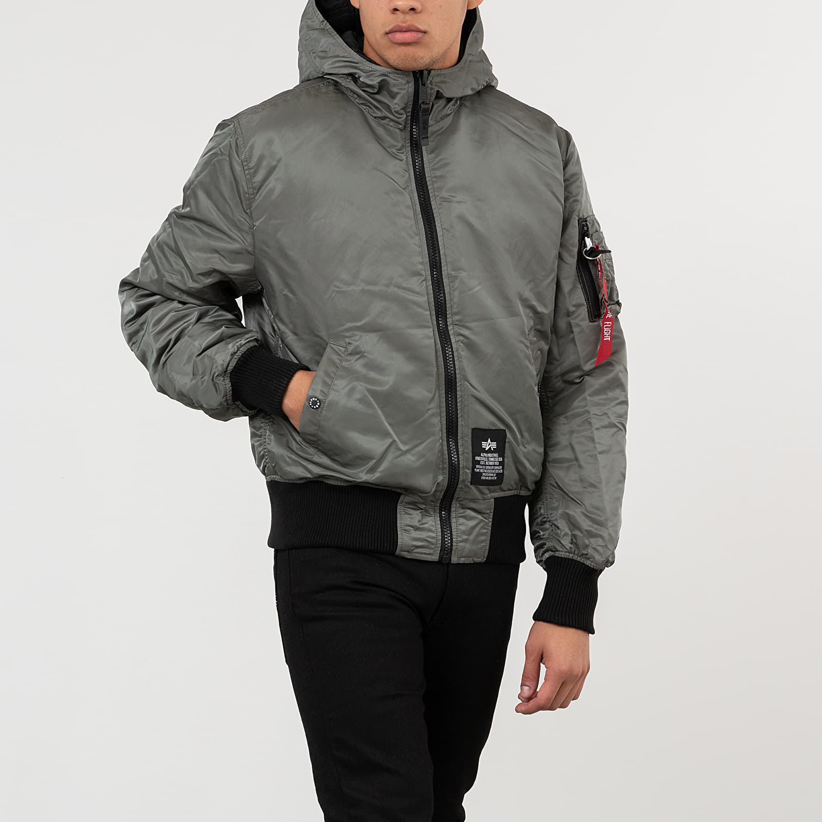 Alpha Industries Hooded Puffer FD Reversible Jacket