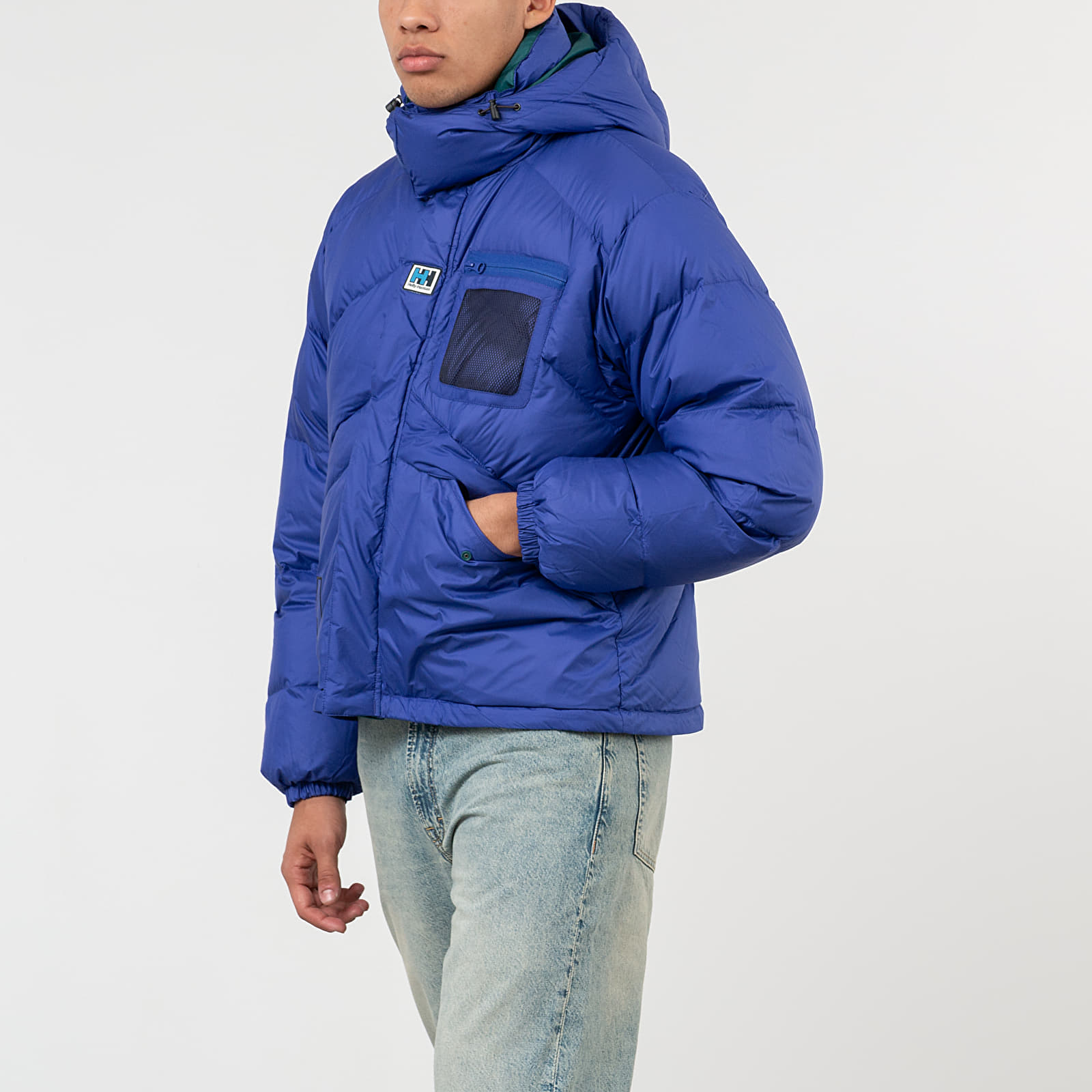 Geci Helly Hansen Heritage Reversible Puffer Jacket Blue