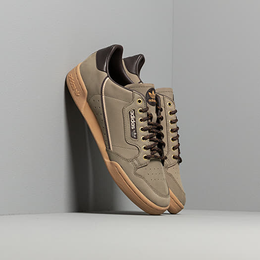 half price temperament shoes clearance prices adidas Continental 80 Trace Cargo/ Mesa/ Night Brown ...