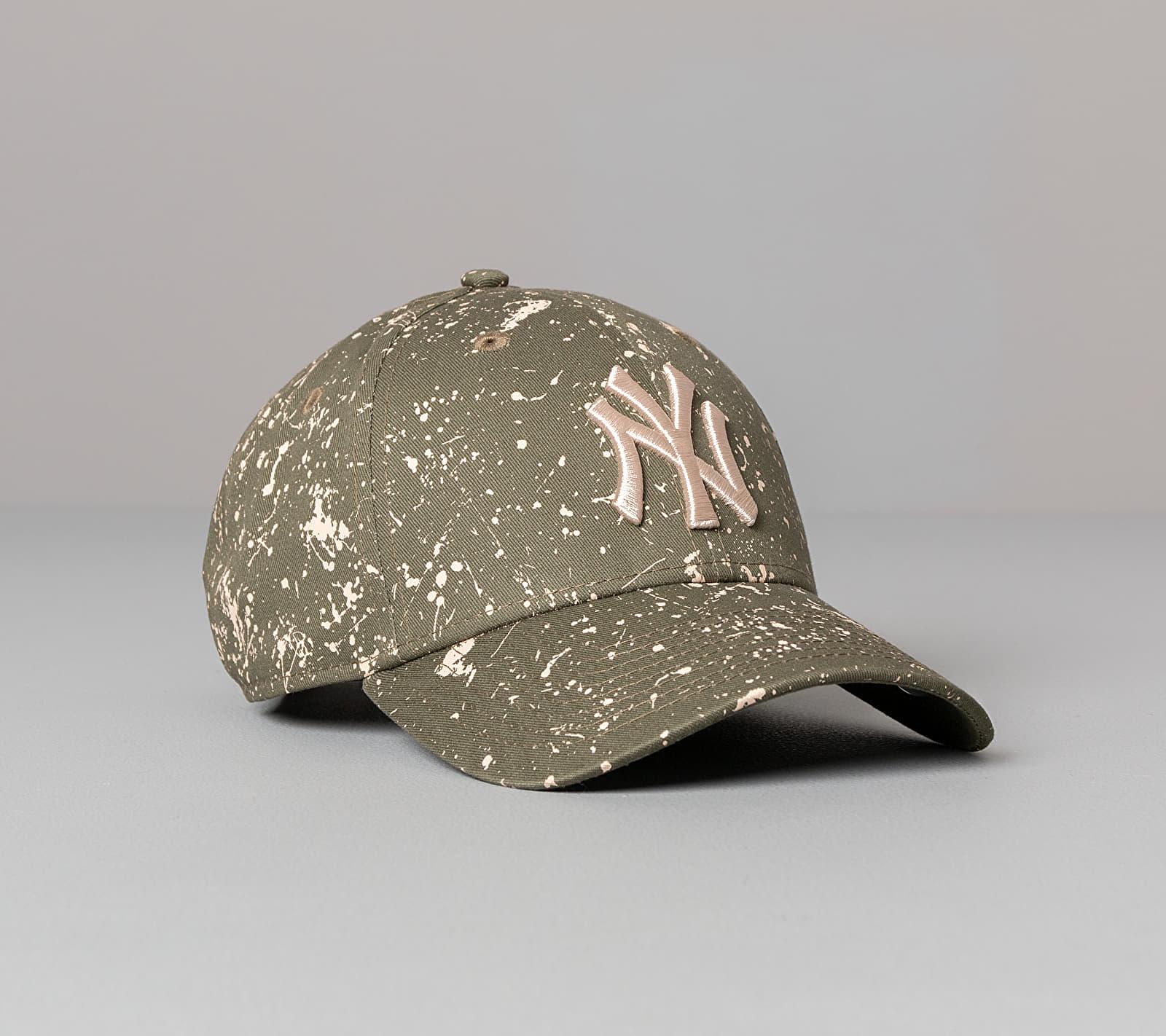 New Era 9Forty MLB Paint Pack New York Yankees Cap Green Univerzální velikost