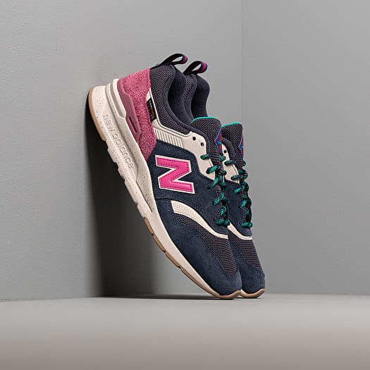 New Balance 997 Navy/ Pink | Footshop