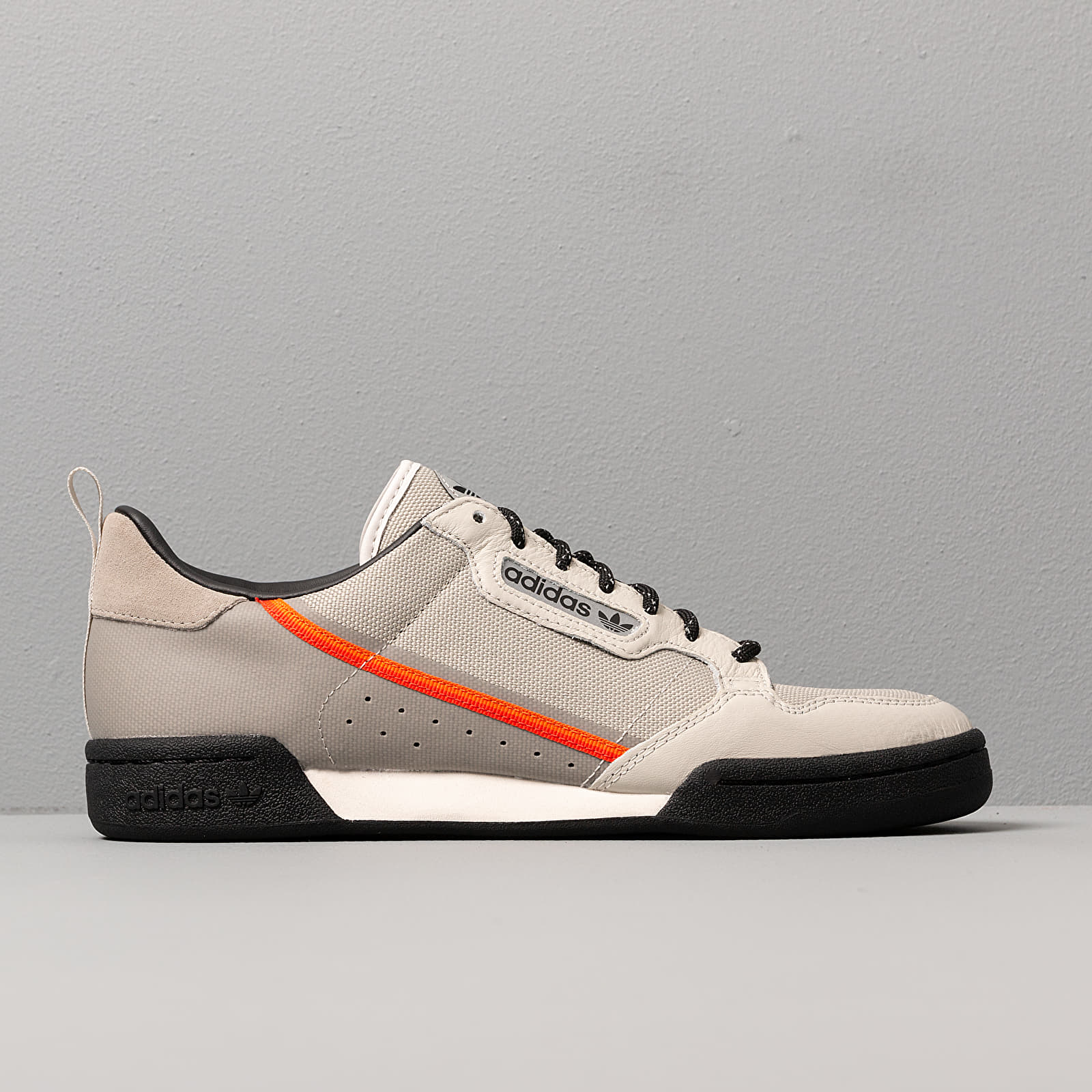 adidas originals CONTINENTAL 80 sesameorangeraw white bei