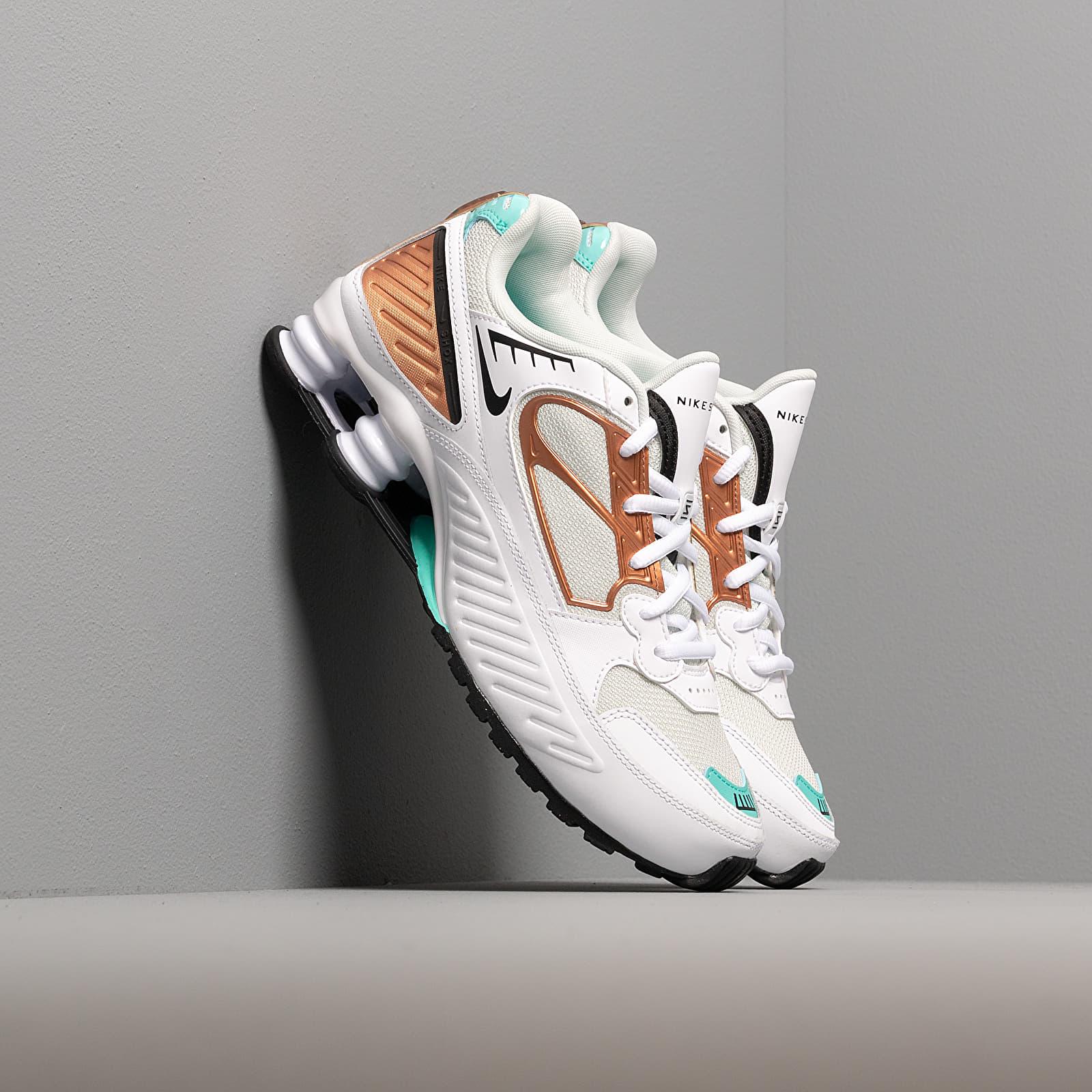 Dámské tenisky a boty Nike W Shox Enigma 9000 White/ Black-Spruce Aura-Aurora Green