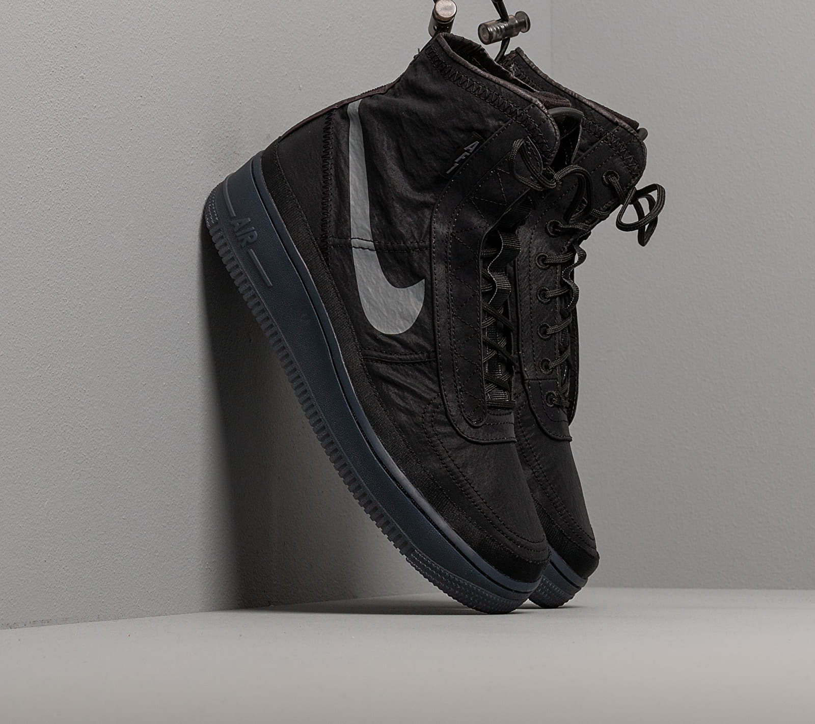 Nike W Air Force 1 Shell Black/ Dark Grey-Black EUR 35.5