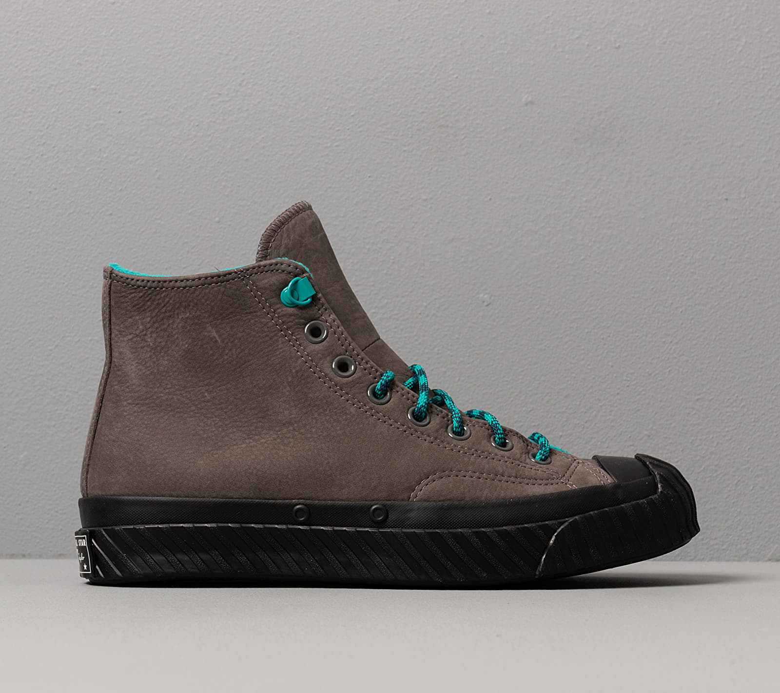 Converse Chuck 70 Bosey Water Repellent Carbon Grey/ Turbo Green/ Black, Gray