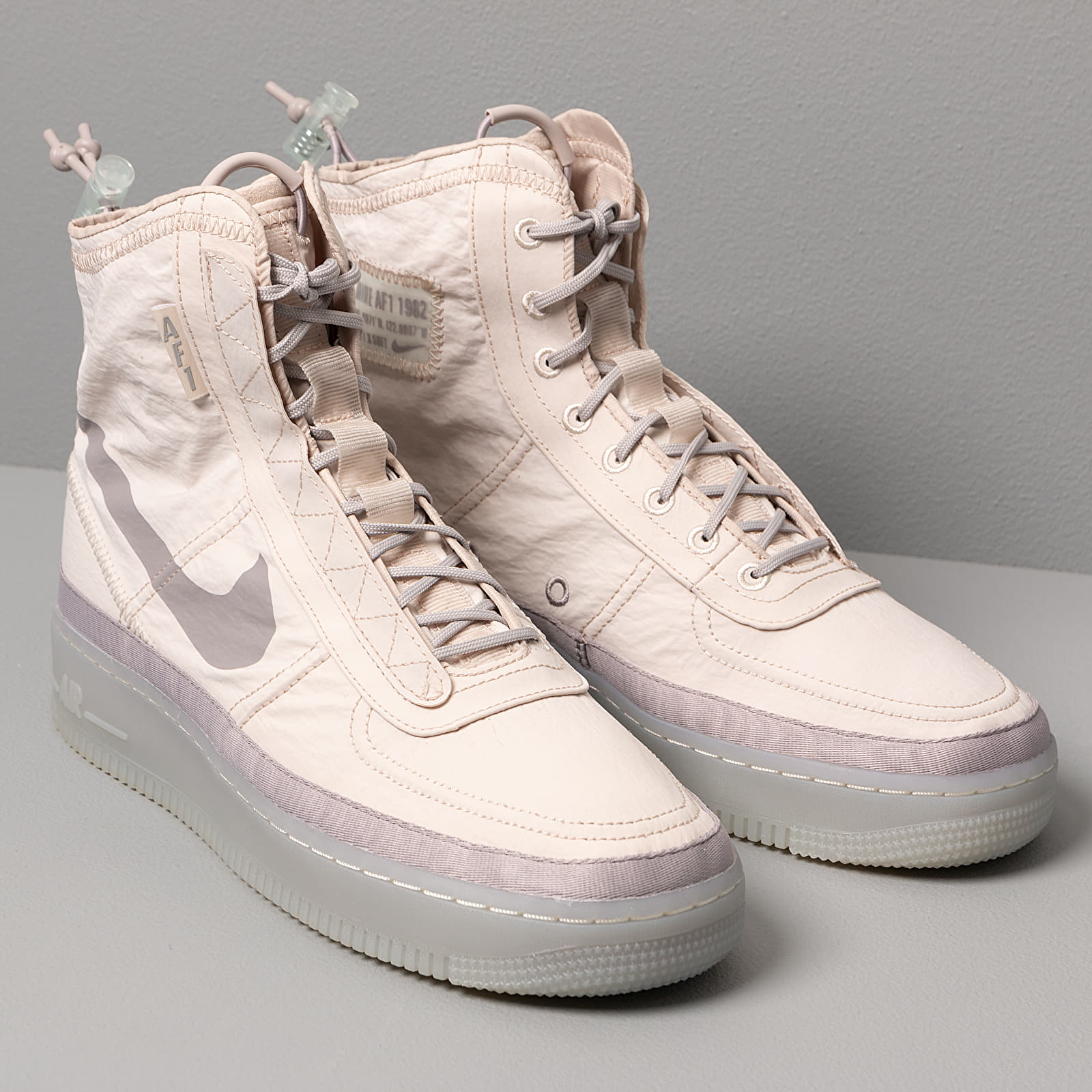 Nike W Air Force 1 Shell Desert Sand Atmosphere Grey Spruce Aura | Footshop