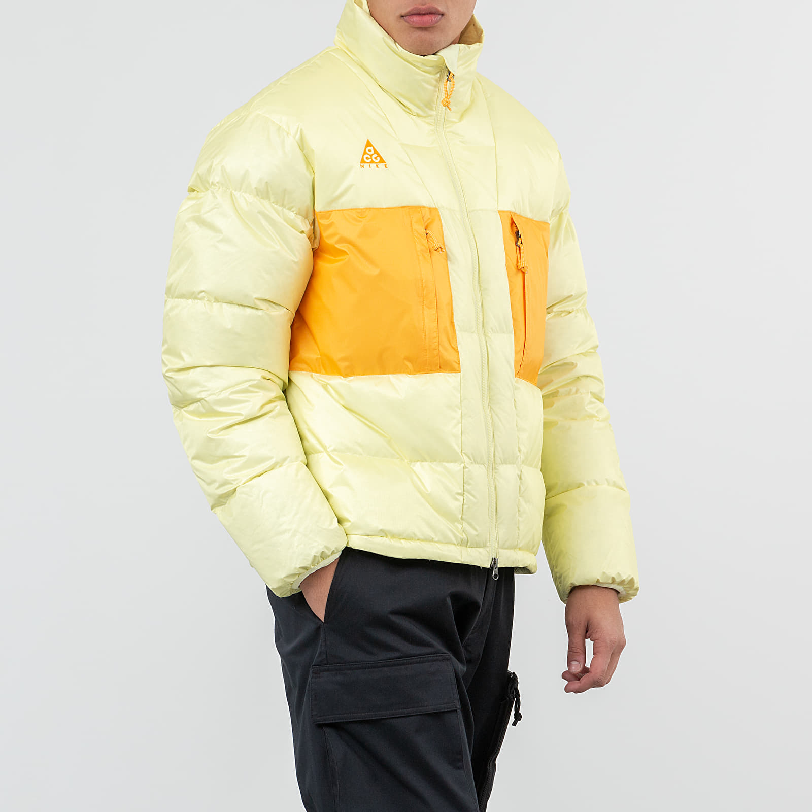 Jacken Nike ACG Down Fill Jacket Luminous Green/ Gold