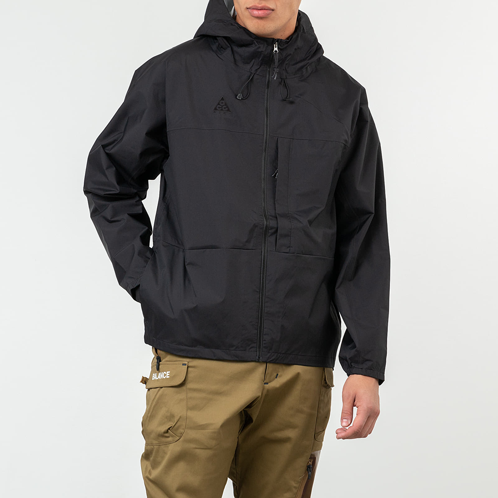 Nike NRG ACG 5L Packable Jacket Black Anthracite | Footshop