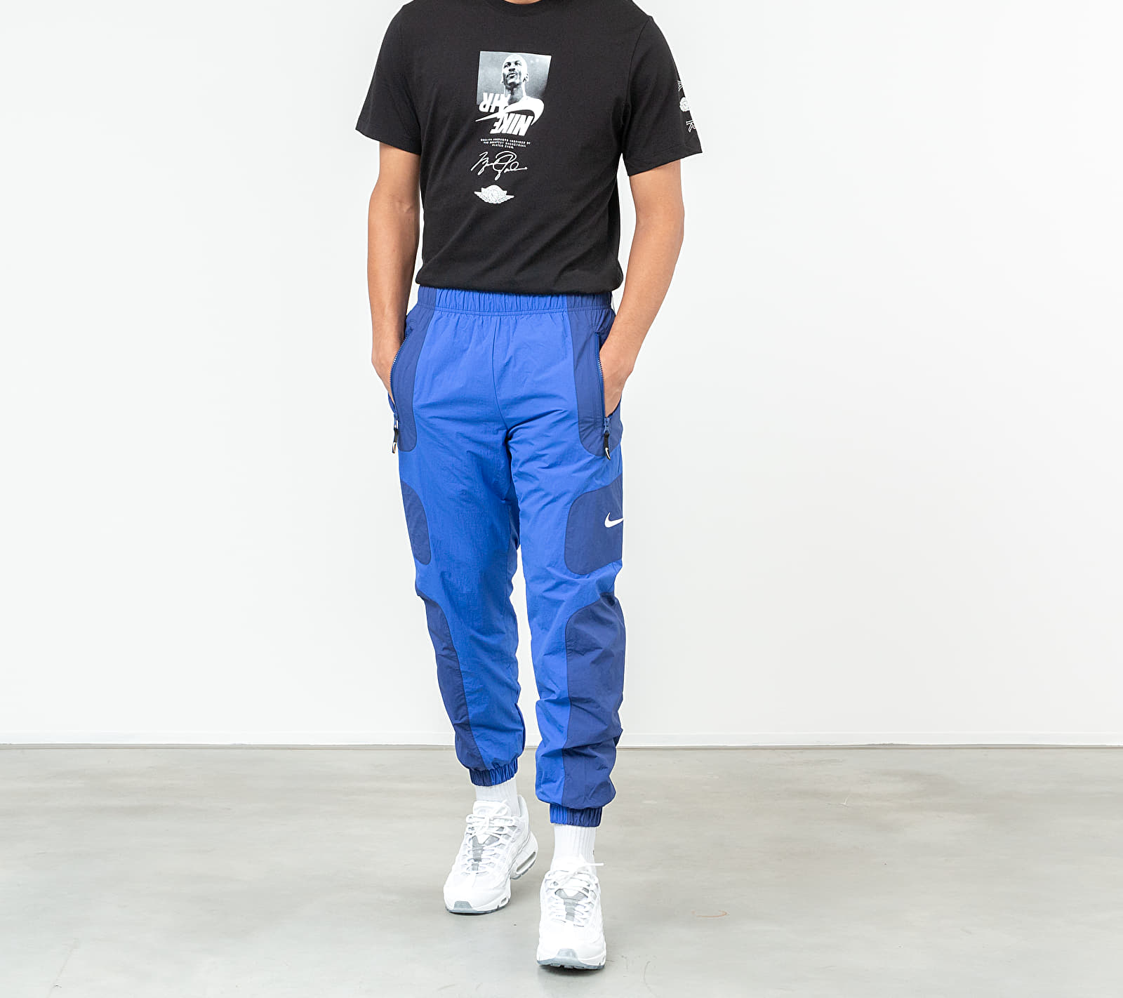 Nike Sportswear Re-Issue Pants Deep Royal Blue/ Hyper Royal/ White