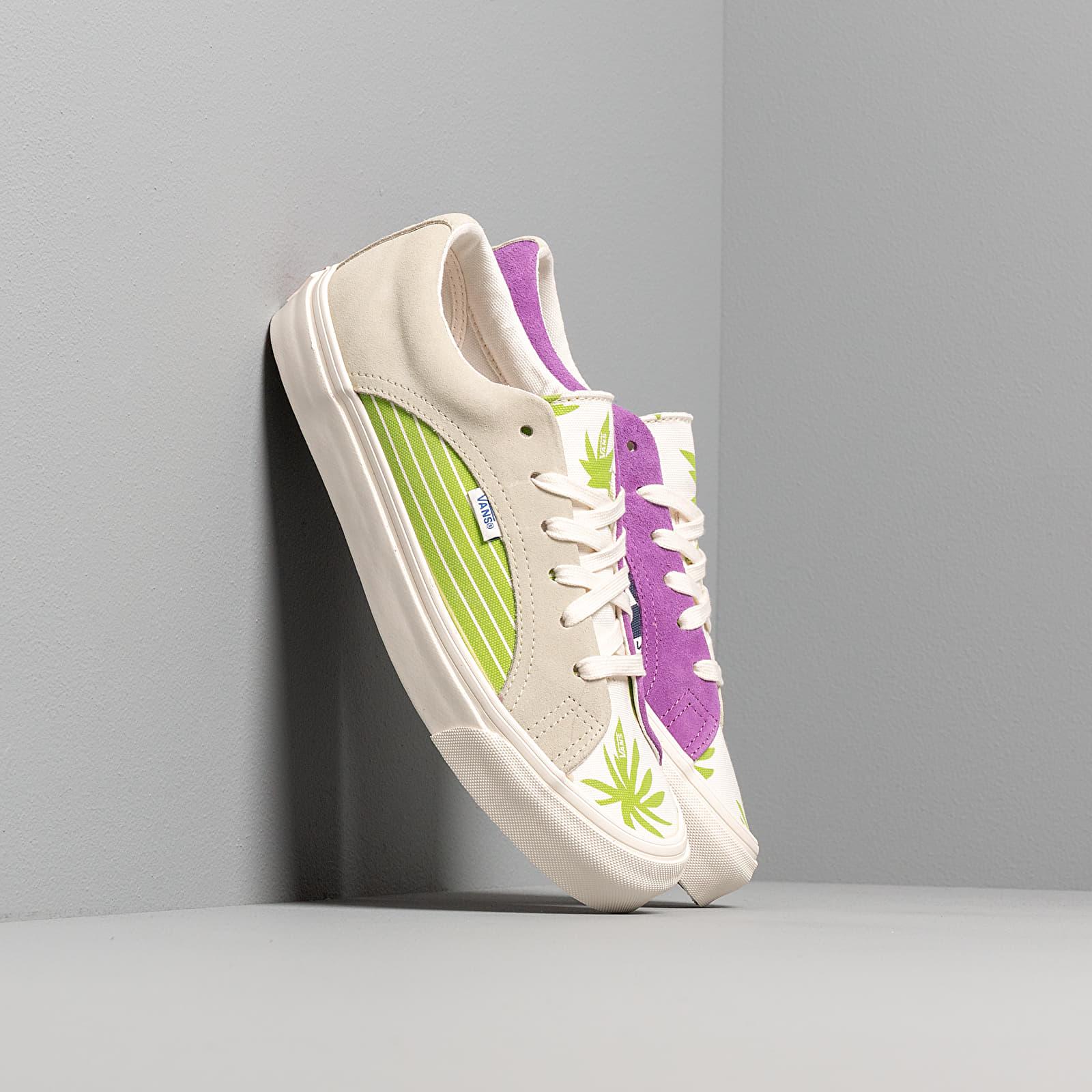Men's shoes Vans Og Lampin LX (Suede/ Canvas) Overcast Lime Green