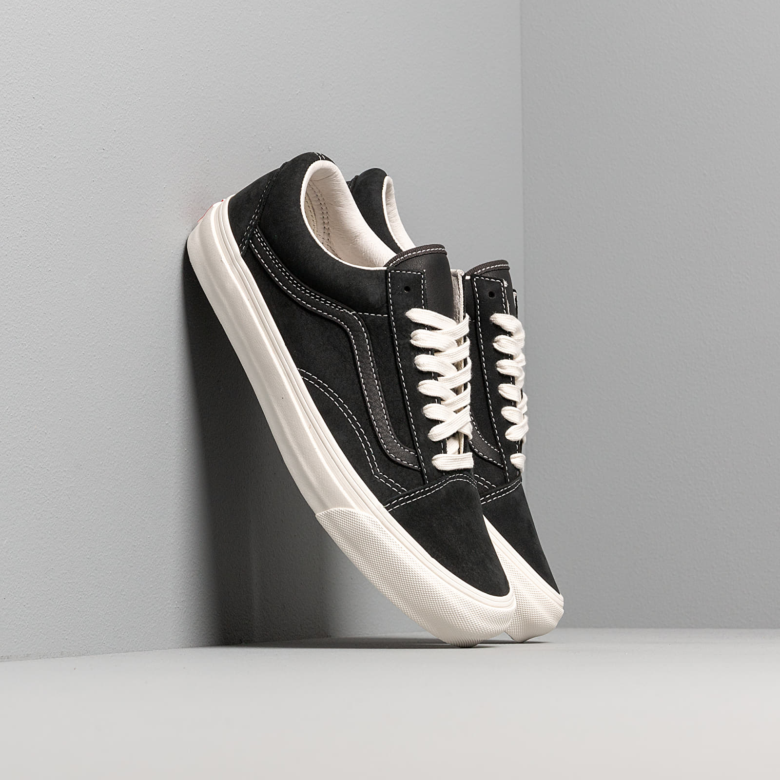 Buty męskie Vans OG Old Skool LX (Nubuck/ Leather) Raven/ Black