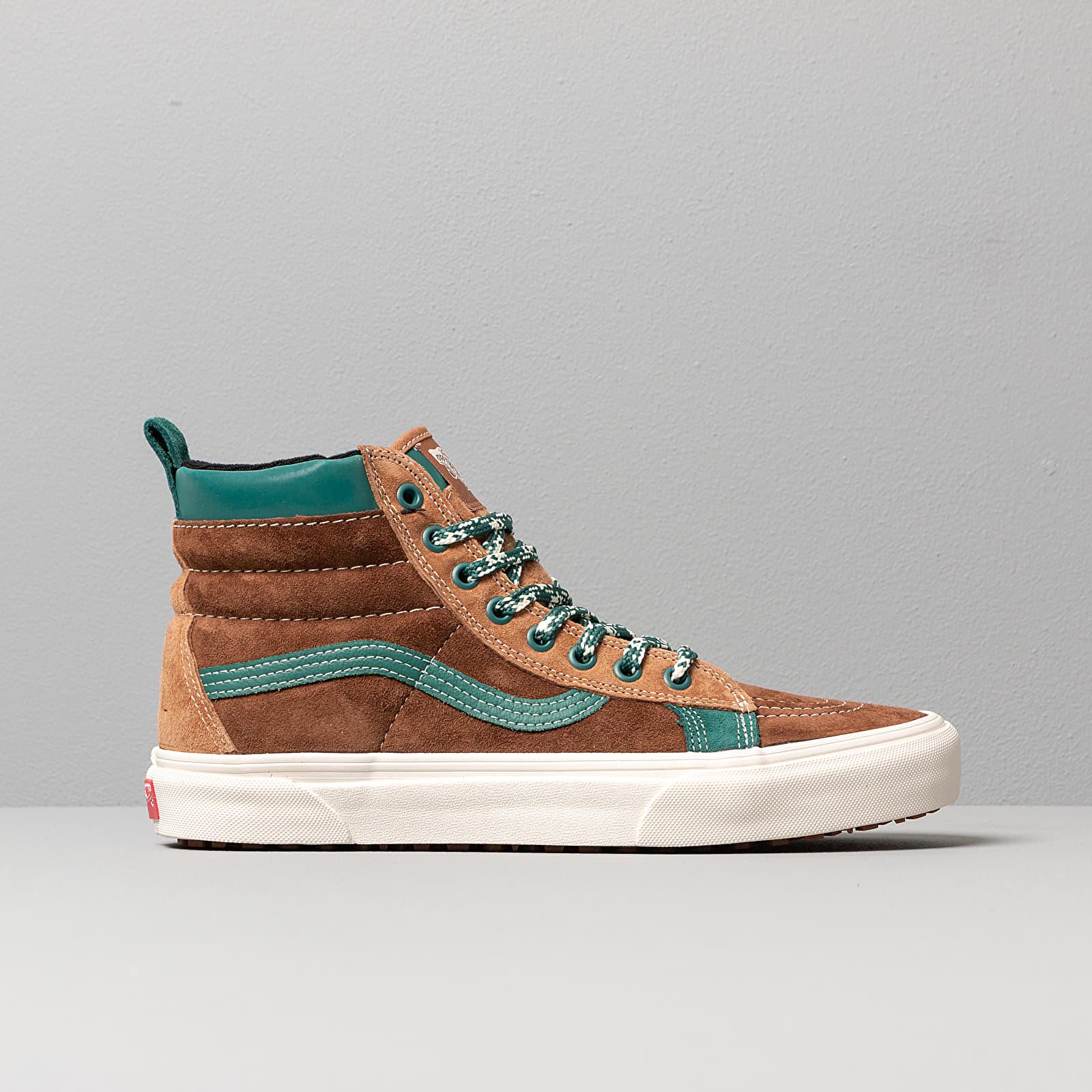 men s shoes vans sk8 hi mte lx vssl mte kit brown green footshop vans sk8 hi mte lx vssl mte kit brown green footshop