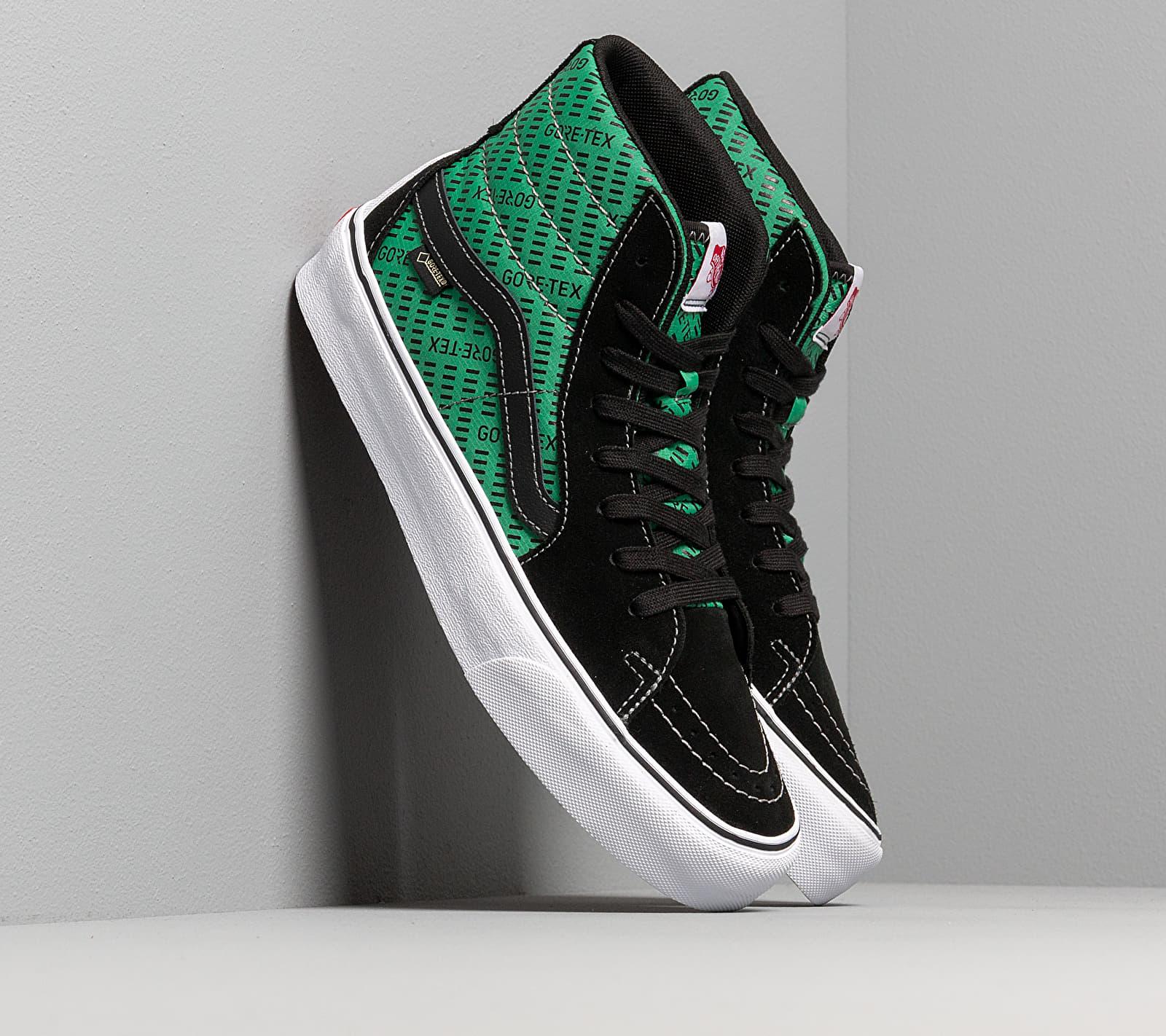 Vans Sk8-Hi Gore-Tex Black/ Green EUR 34.5