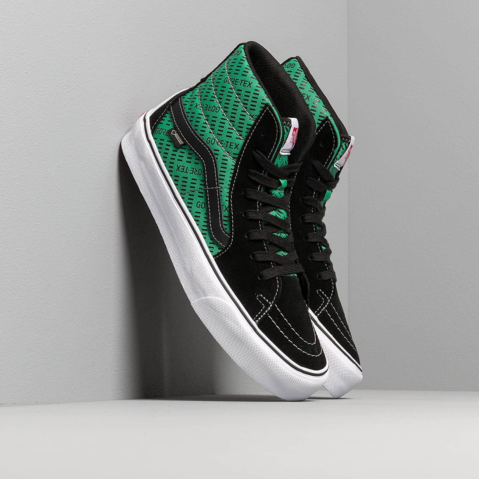 Männer Vans Sk8-Hi Gore-Tex Black/ Green