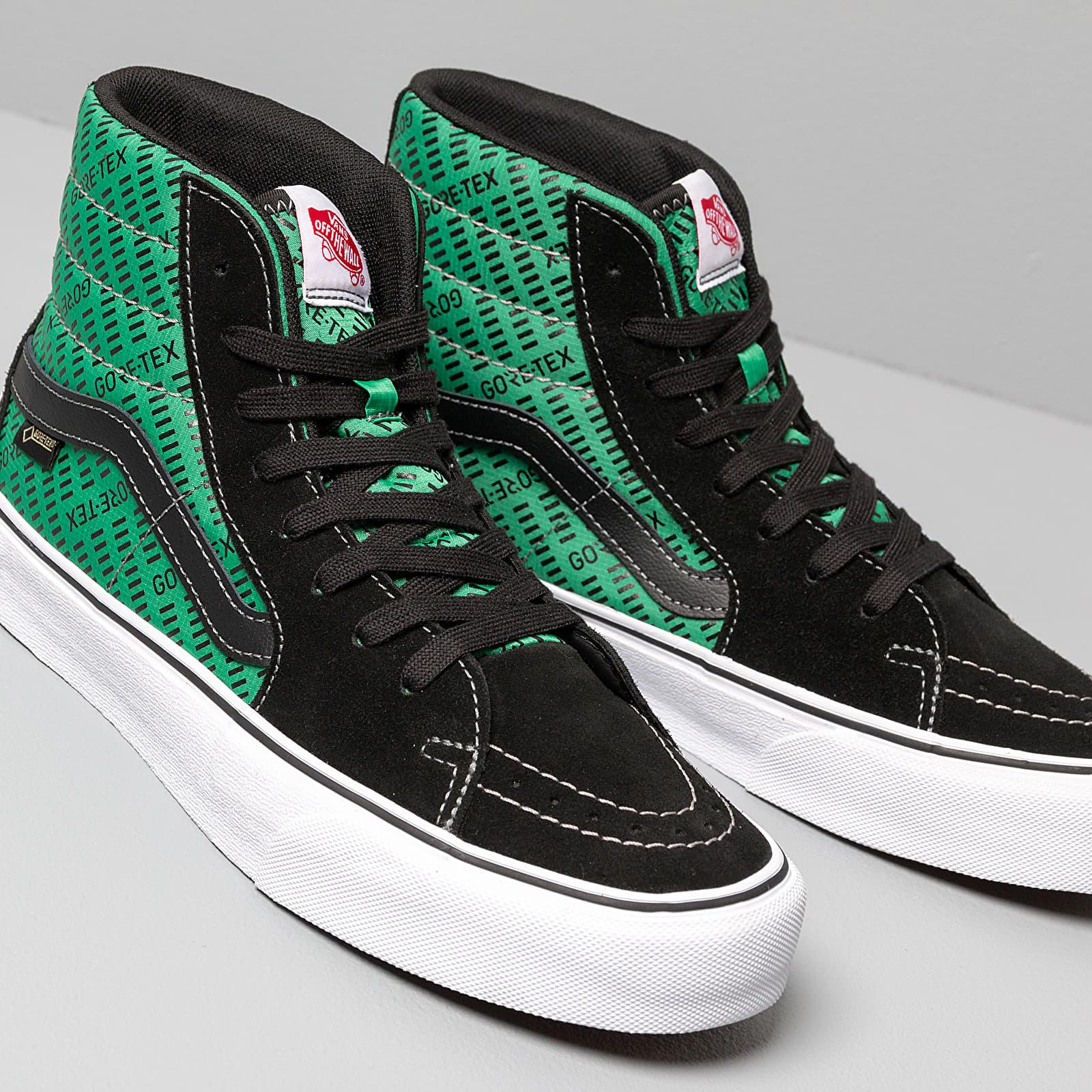 Vans SK8 Hi GORE TEX Black Green   Footshop