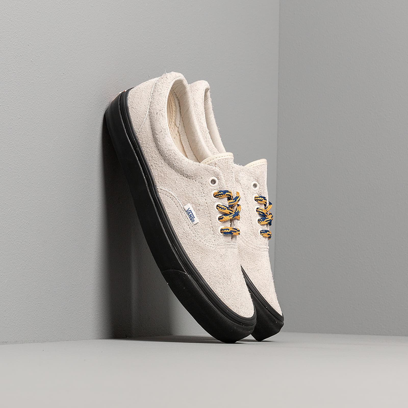 Pánske tenisky a topánky Vans OG Era LX (Hairy Suede) Beige/ Black