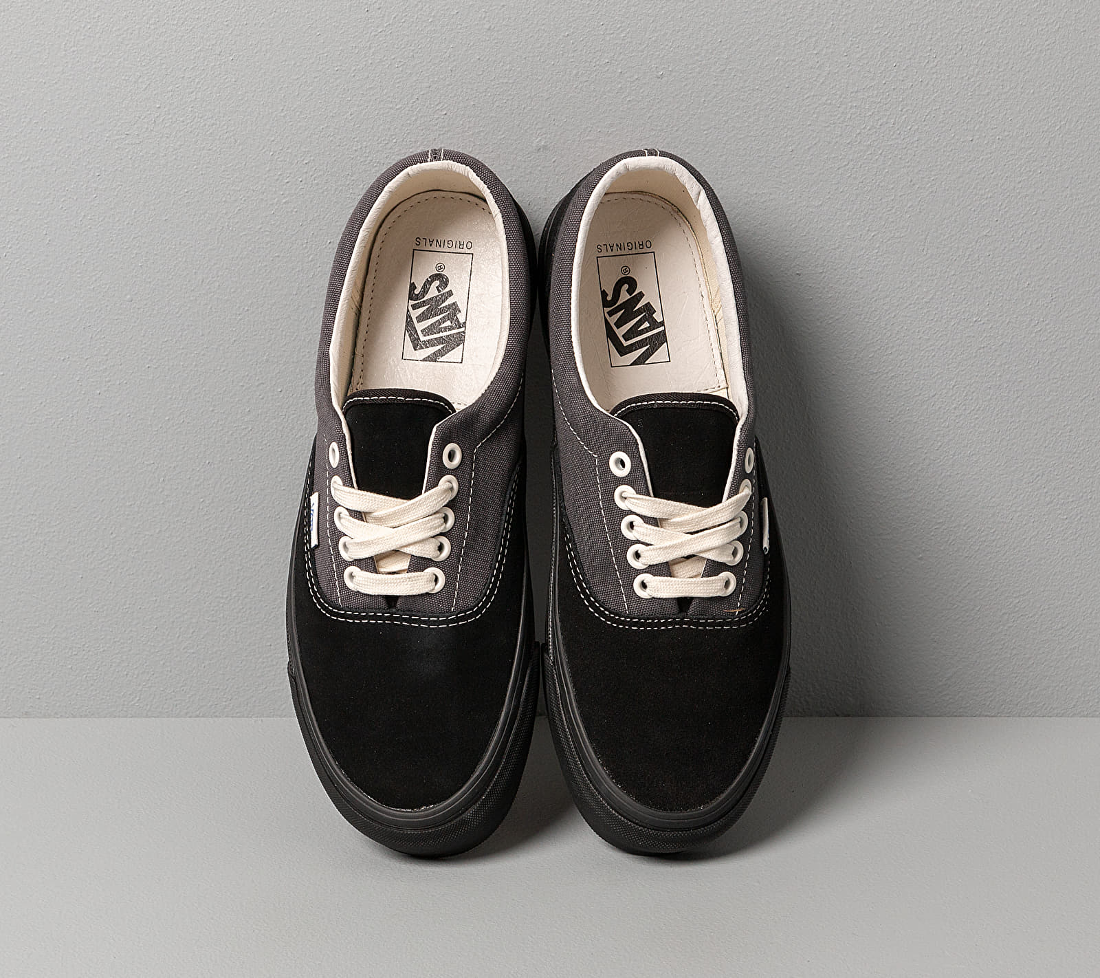 Vans Og Era LX (Suede/ Canvas) Black/ Forged Iron