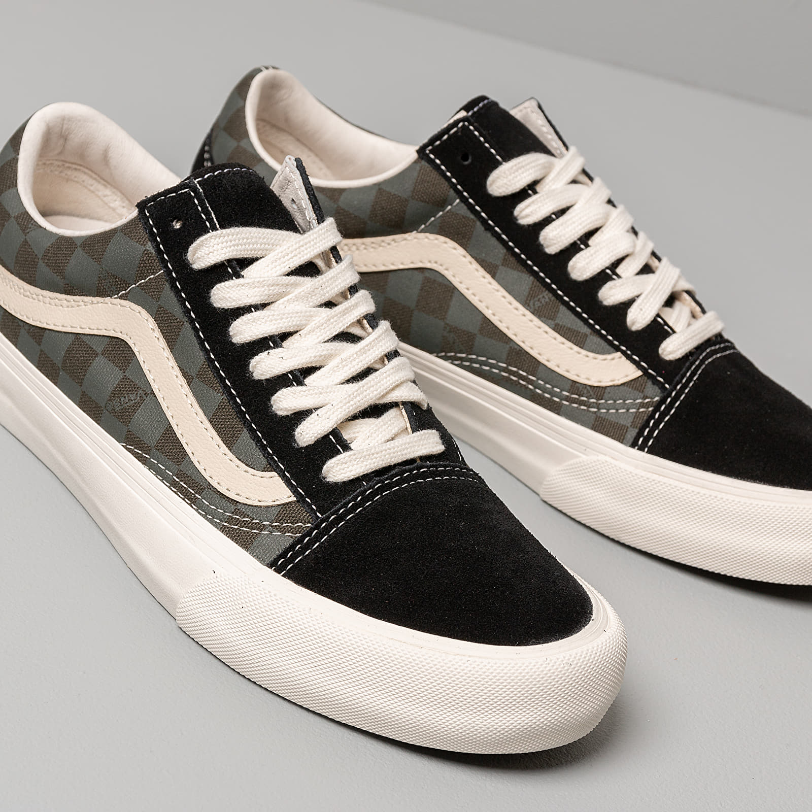 Vans Old Skool VLT LX (VSSL Skate Kit) Forest Night Black Ink | Footshop