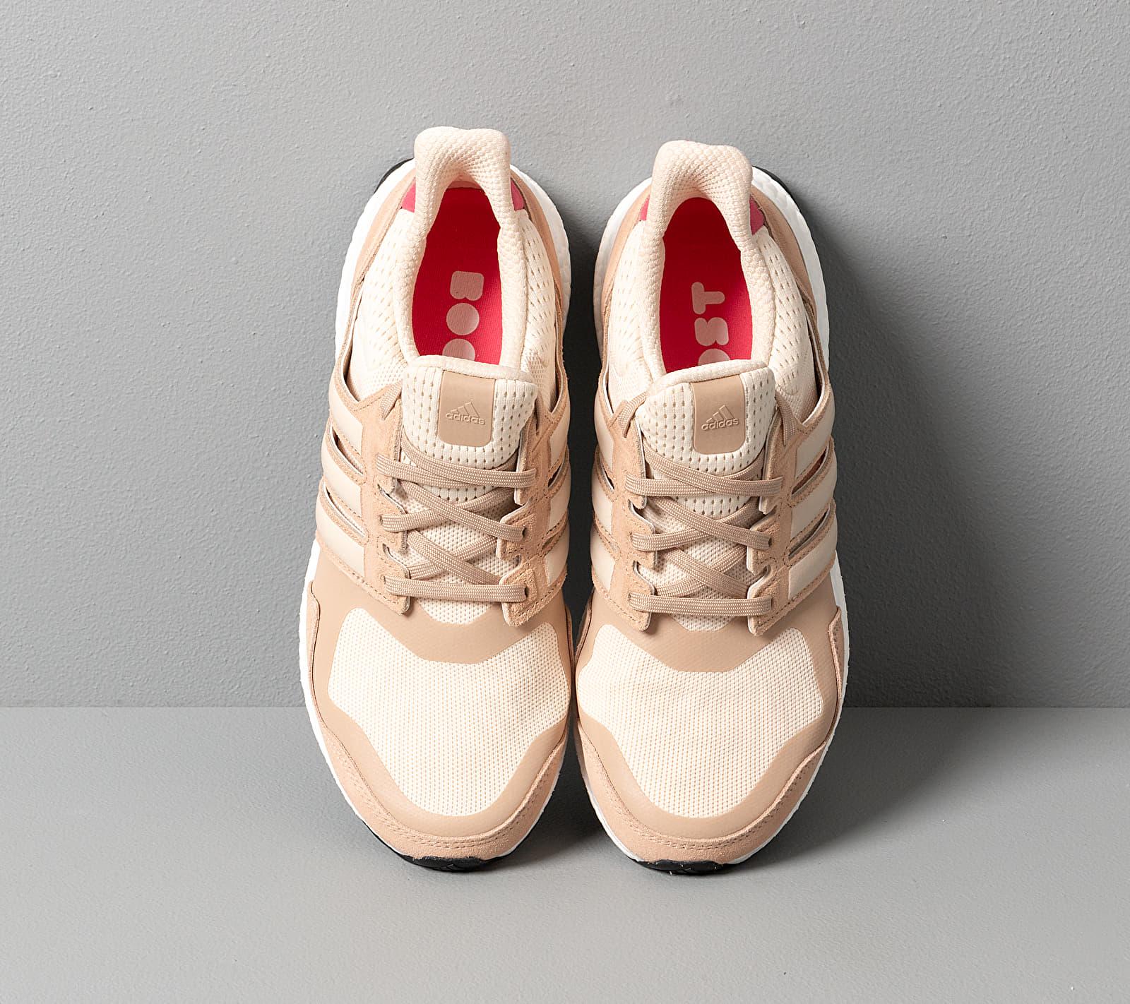 adidas UltraBOOST S&L W Ecru Tint/ St Pale Nude/ Real Pink, Brown