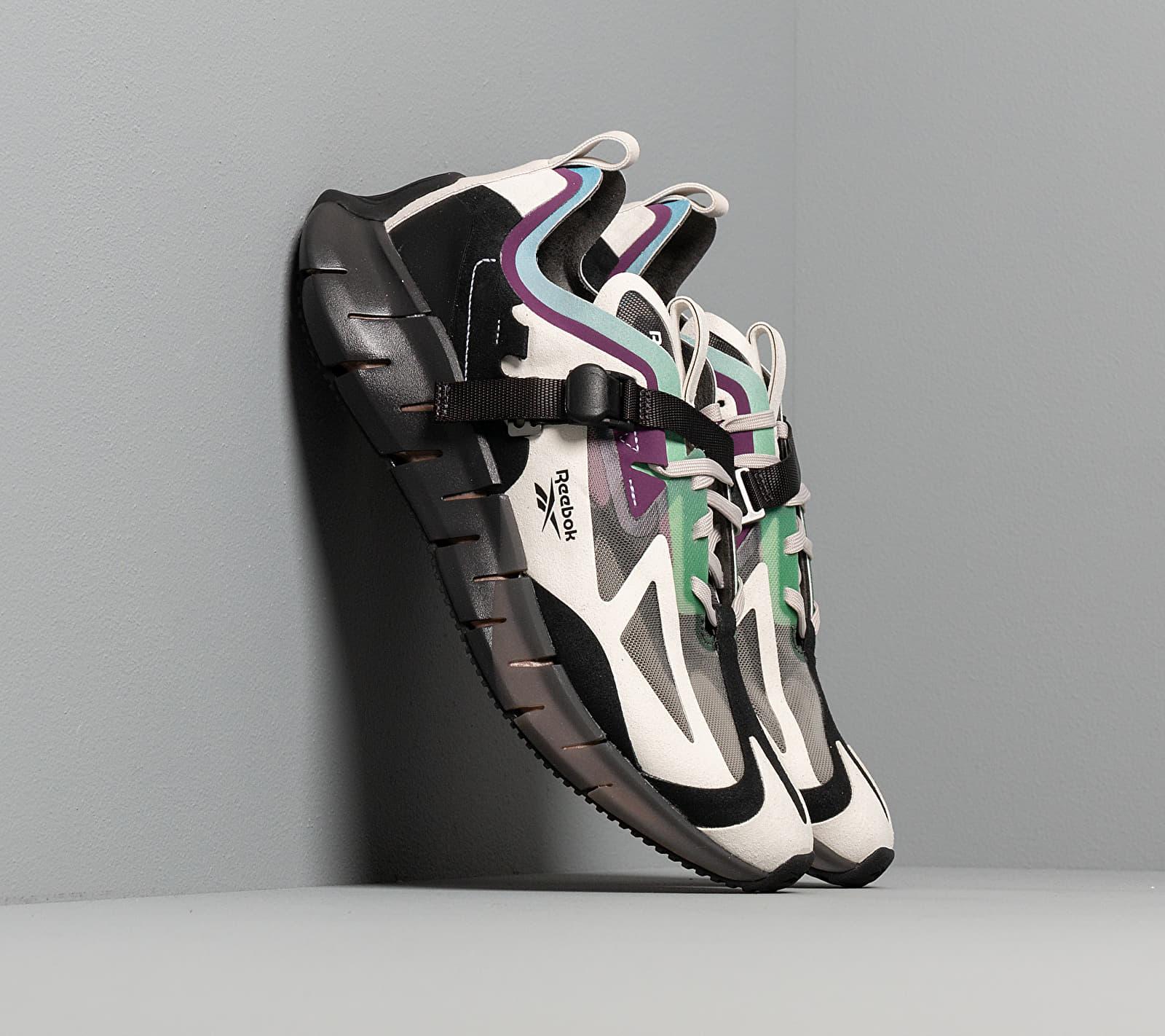 Reebok Zig Kinetica Concept_Type 1 Sand Stone/ Black/ Emerald, Brown
