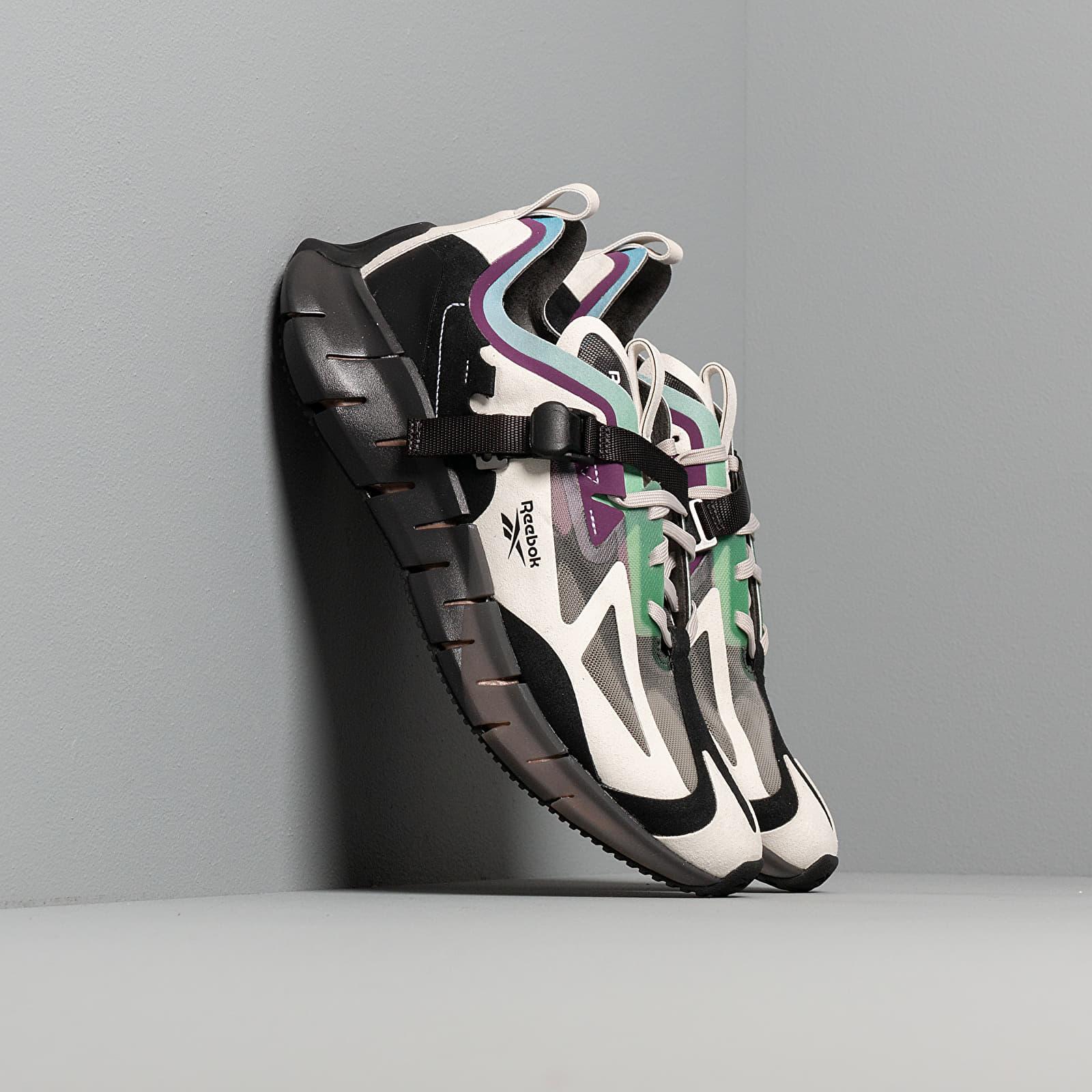 Zapatillas Hombre Reebok Zig Kinetica Concept_Type1 Sand Stone/ Black/ Emerald