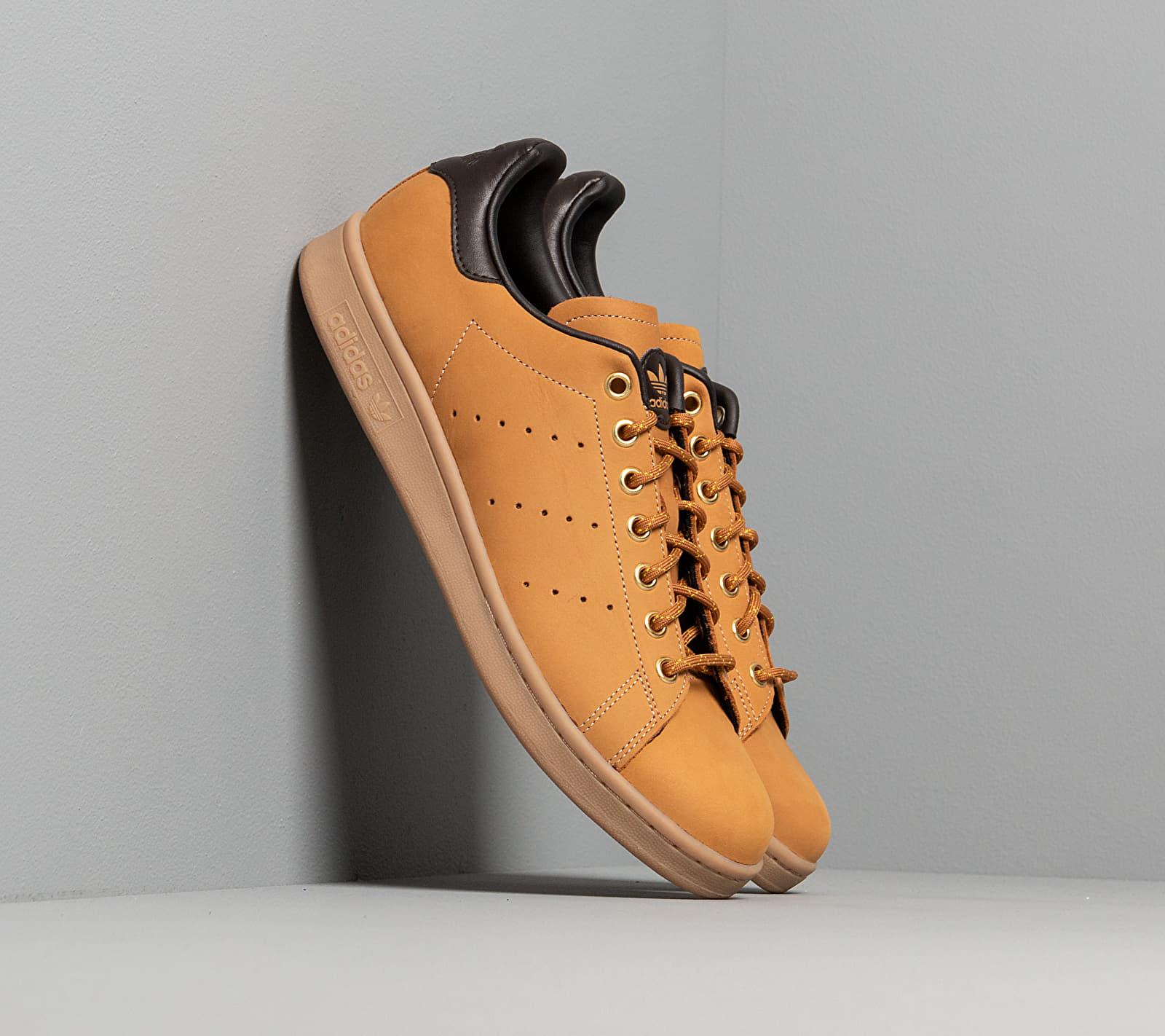 adidas Stan Smith Mesa/ Night Brown/ Eqt Yellow EUR 42