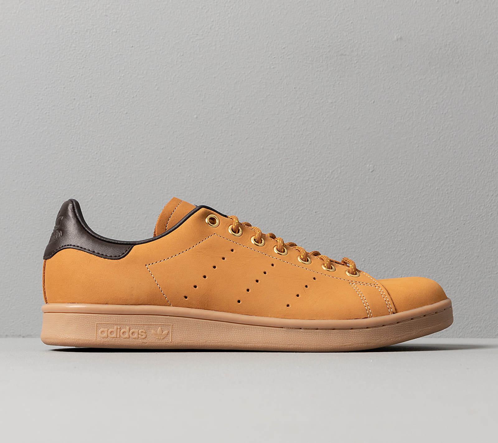 adidas Stan Smith Mesa/ Night Brown/ Eqt Yellow