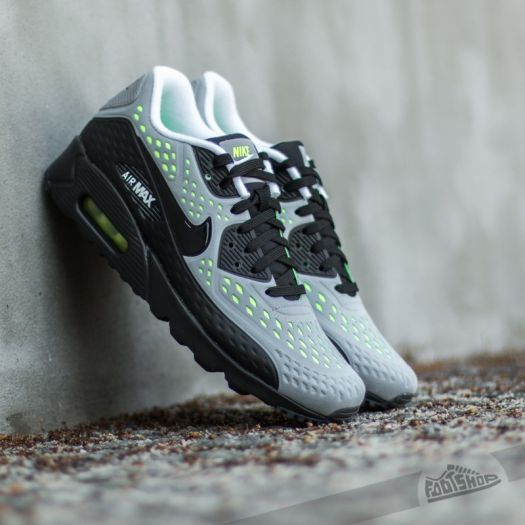 cheaper d4593 97bc3 Nike Air Max 90 Ultra BR Wolf Grey Black-White-Volt  Footsho