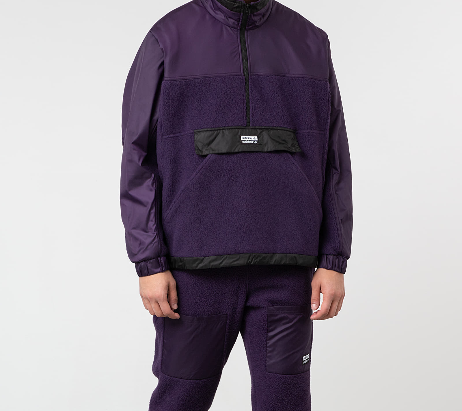 adidas R.Y.V. Lit Track Top Legend Purple
