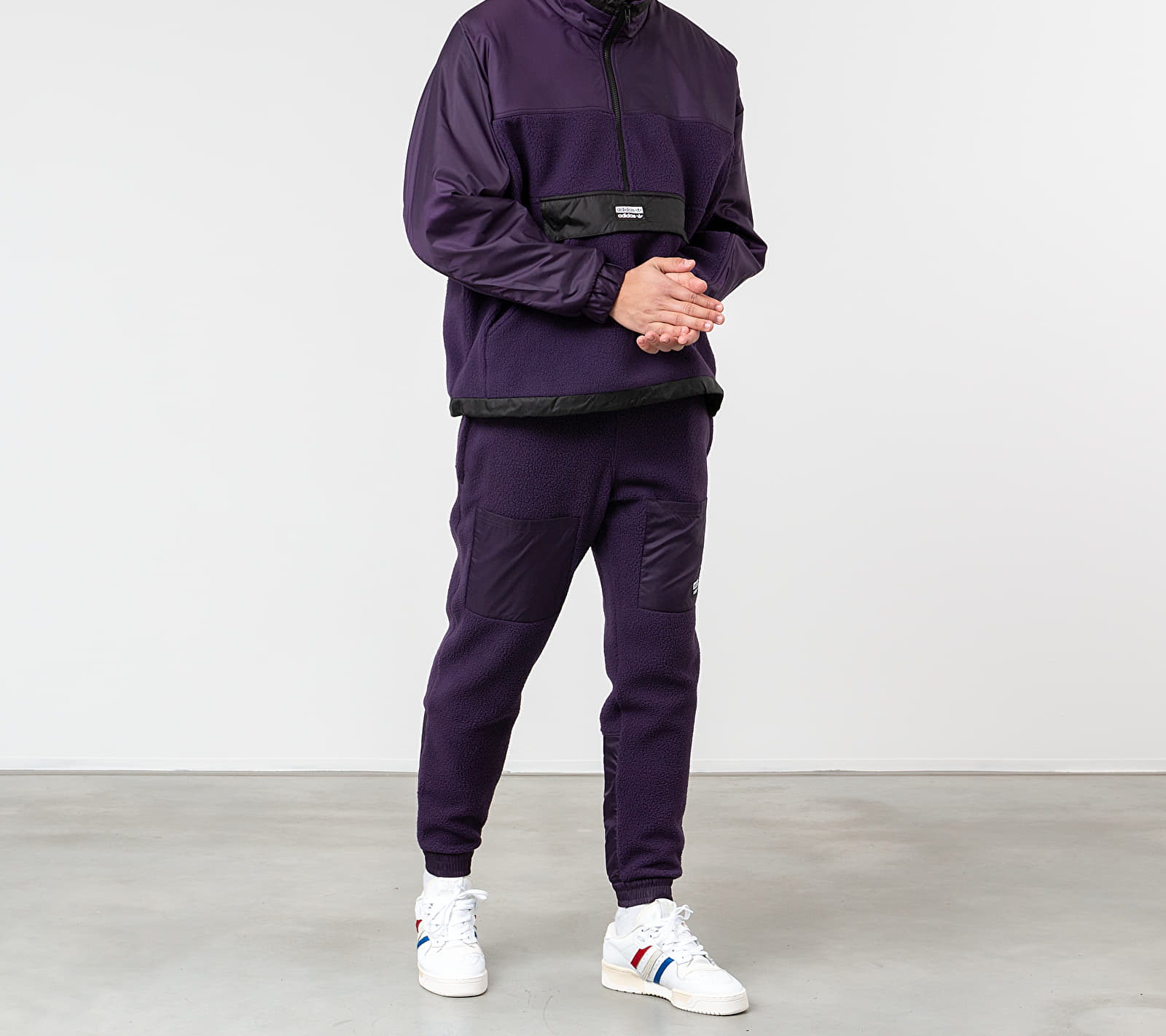 adidas R.Y.V. Lit Track Top Legend Purple