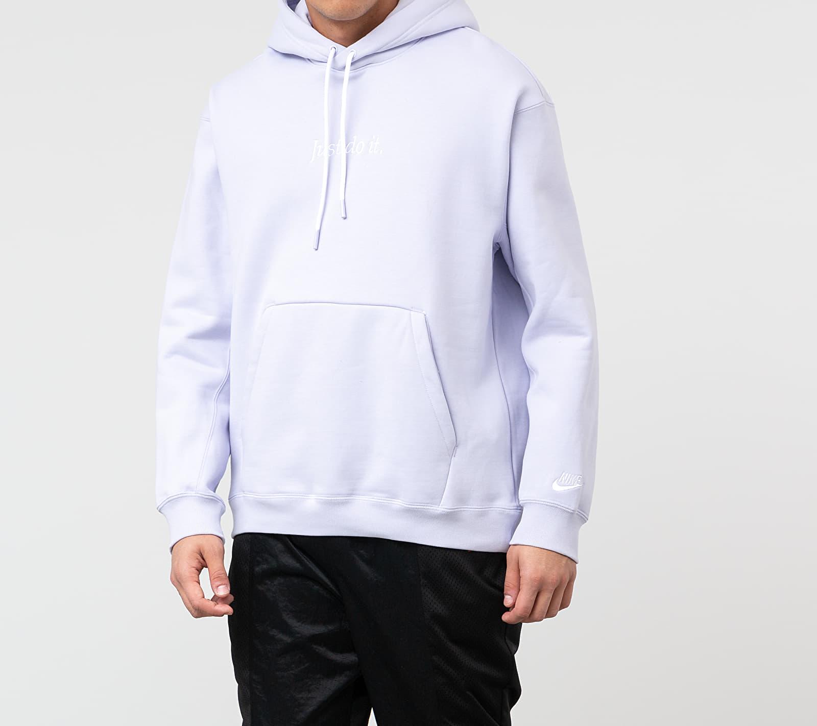 Nike Sportswear JDI Hvywt Hoodie Lavender Mist/ White, Purple