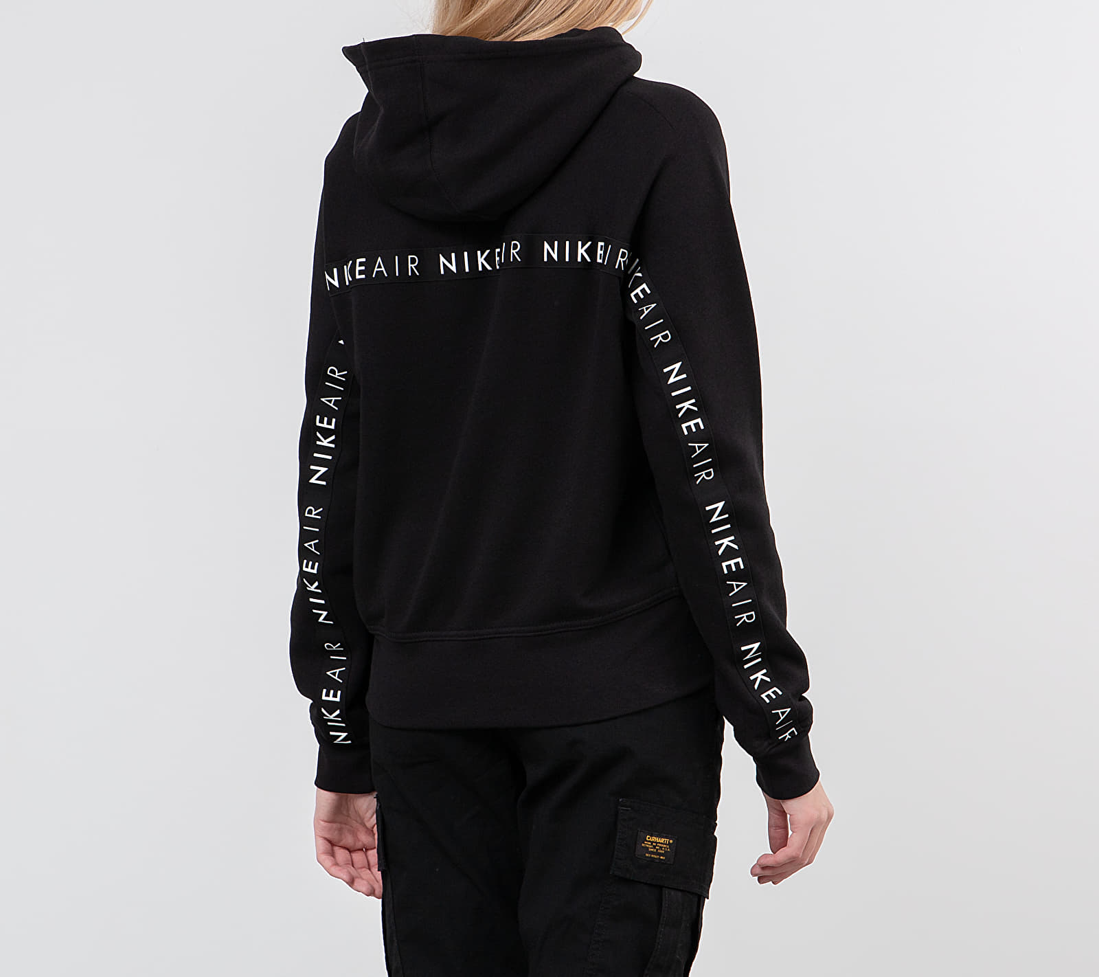 Nike Sportswear Air Hoodie Black/ White