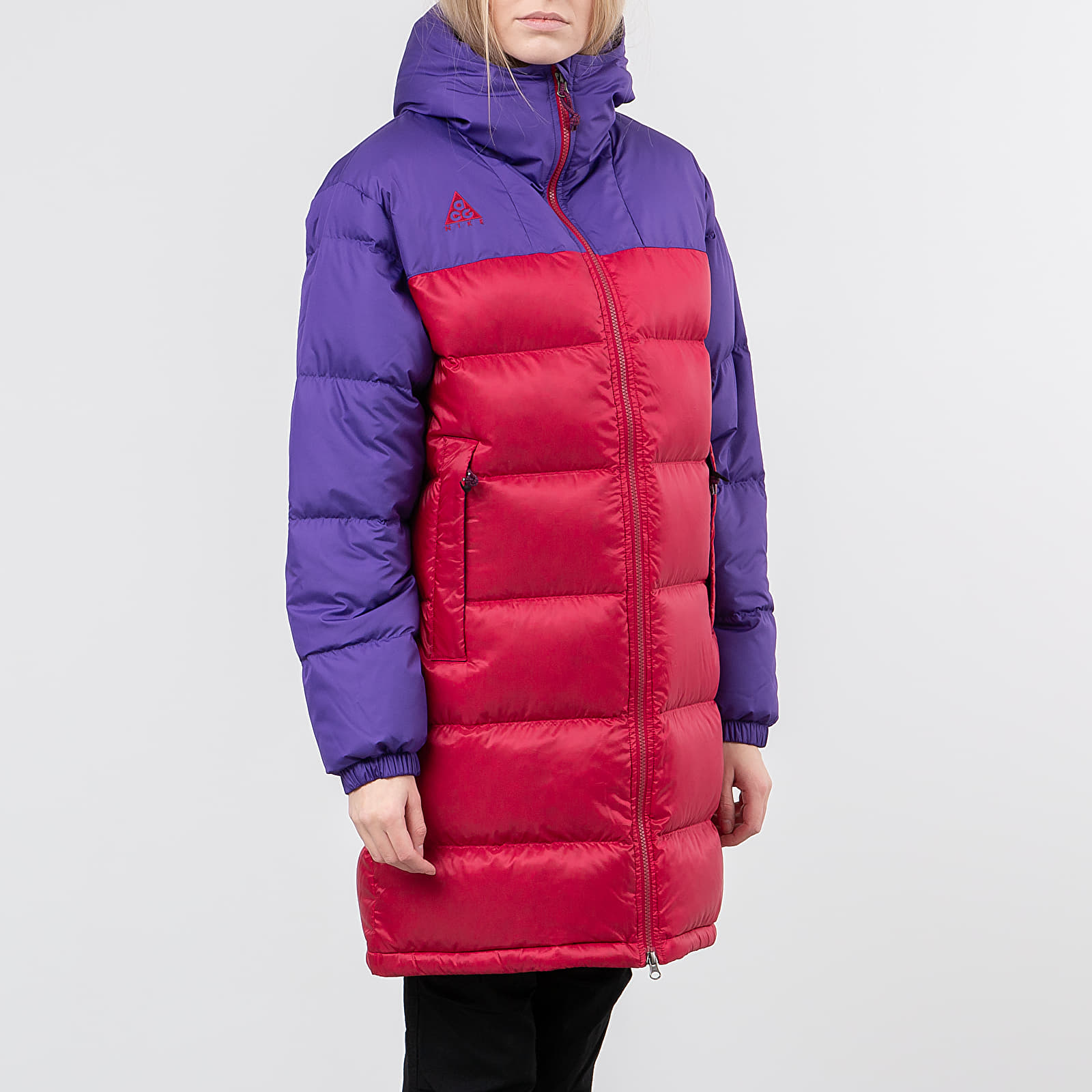 Parka kabát Nike ACG Down Parka Court Purple