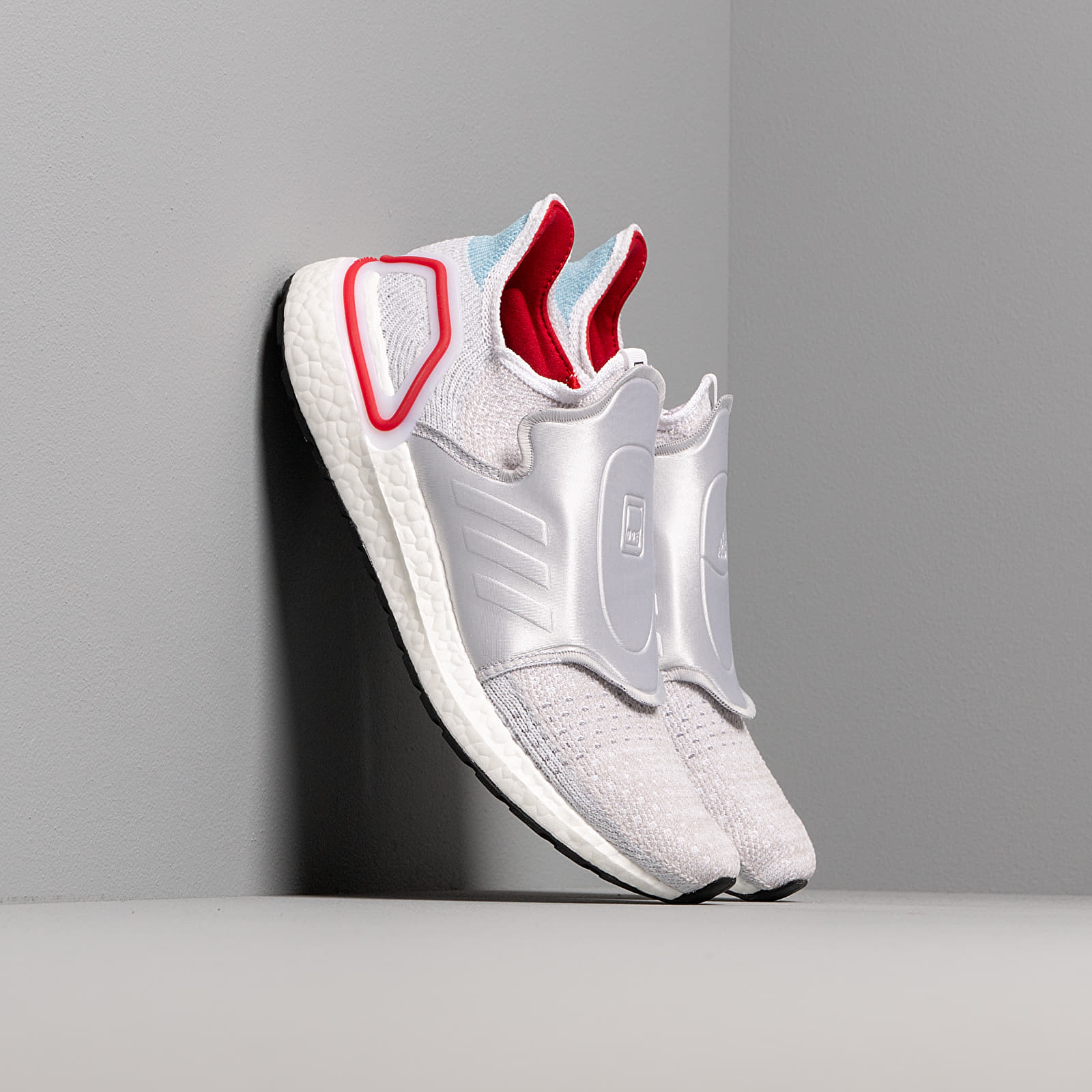 Buty męskie adidas Consortium x DOE UltraBOOST 19 Core White/ Core White/ Power Red